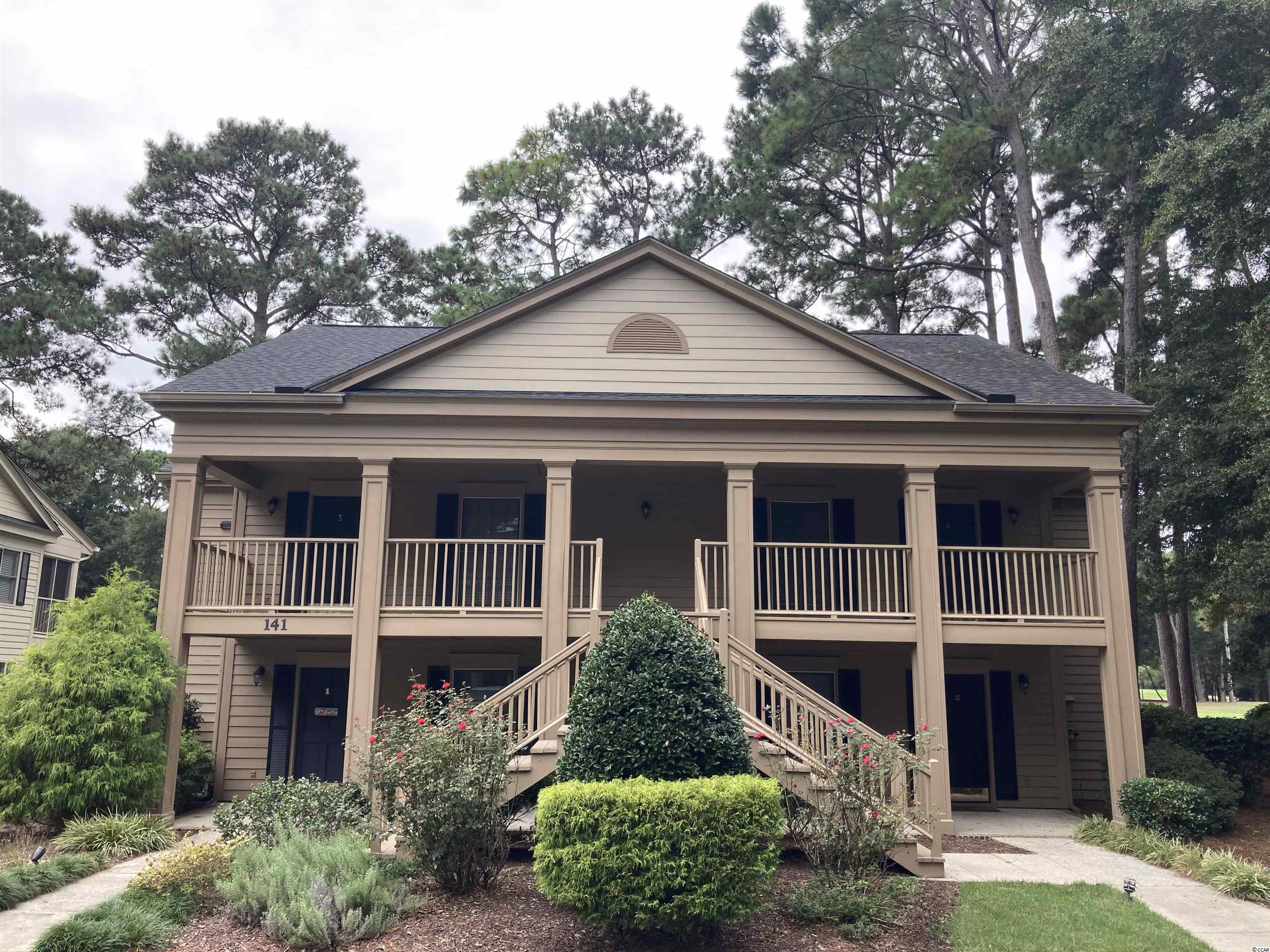 Come check out this well maintained first floor 2 bedroom 2 full bath unit with a lock out bedroom located in Pawleys Plantation's Weehawka Woods. Completely furnished including linens, this unit is move in ready for you and your family. Overlooking the tenth hole with a private screened in porch and walking distance to the pool, clubhouse and driving range. This condo has a rental history over the last two years and has tentative reservations for 2022. Just minutes from Pawleys Island beach, local restaurants and businesses. This won't last long.