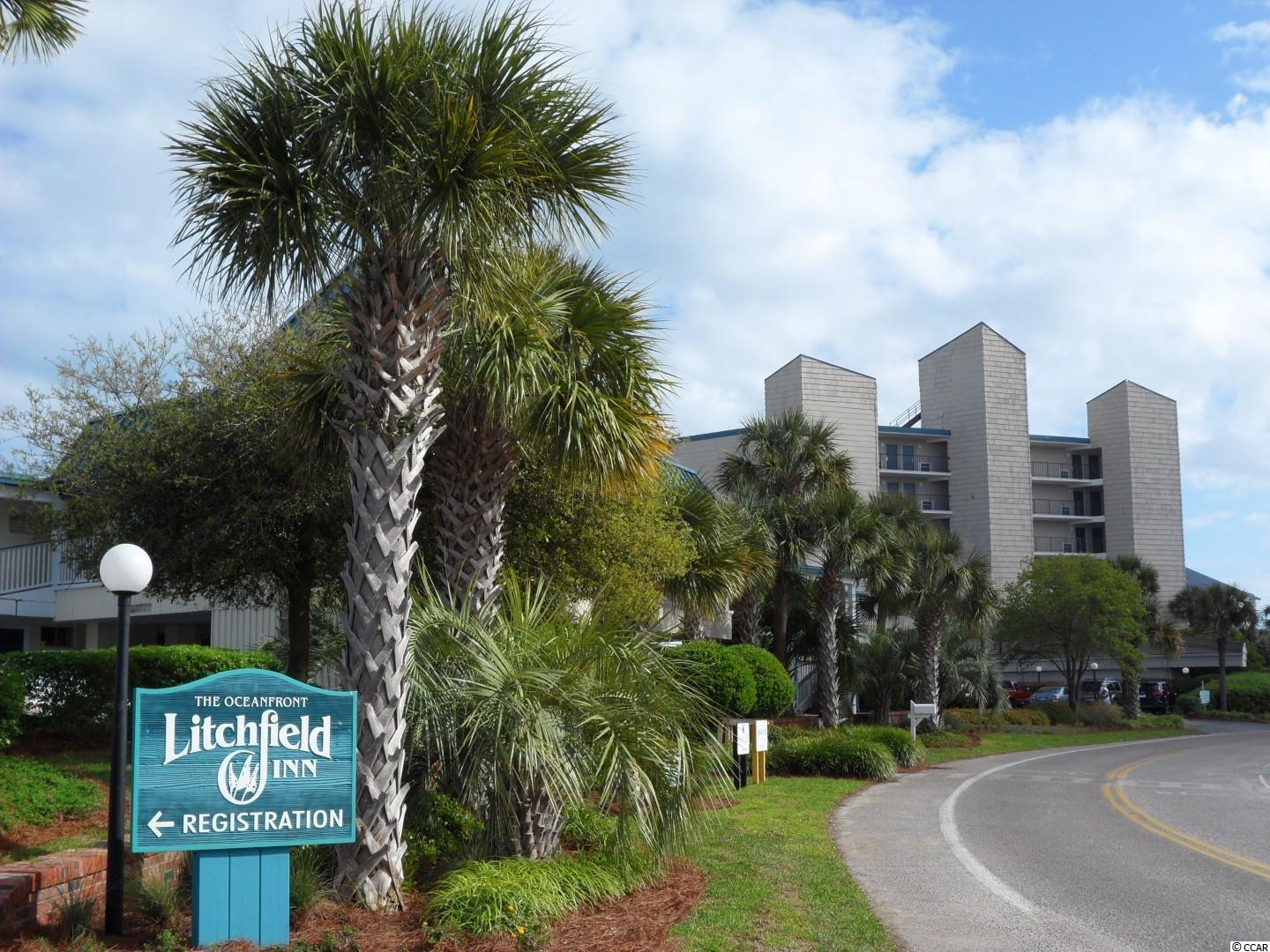 Awesome condo overlooking the pool and ocean…wow! Tastefully decorated and well maintained condo at the Litchfield Inn. This unit is located on the ground floor with no stairs to climb. Direct access to the pool from your sliding door. Relax beside one of the two oceanfront pools. Dine at the open air poolside restaurant or upstairs overlooking the beach and ocean at our areas only oceanfront restaurant. Enjoy a totally relaxing environment where there is no need to leave the beach area! Square footage is approximate and not guaranteed. Buyers responsible for verification.