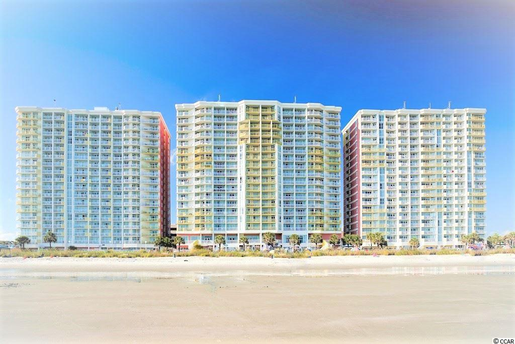 """Fantastic 11th Floor Deluxe True 1 Bedroom Oceanfront Condo with Full Kitchen AND Washer/Dryer located in the Ever Popular Oceanfront Baywatch Resort! Baywatch has 16 Indoor/Outdoor Pools/Hot Tubs, Restaurants, Tiki Bar, Meeting Space, Parking Deck, Sundries Shop, Concierge and Bellhop Services! There's nothing else like this in all of North Myrtle Beach!  This Unit has a brand new 2021 HVAC, Upgraded kitchen and bath cabinetry with gorgeous granite, new mirrors, lamps, artwork, decor this year! Owner just added a 55"""" Wall mount TV in the LR and there's a 43"""" in the bedroom!  Prior years upgrades included New Living and Dining Furniture, New Mattresses/Bedding, New Draperies plus New Floor to Ceiling Glass in the Sliders!! Complete with a Washer/Dryer, Murphy Bed and an Owners Closet plus kitchen bar seating and a pantry - Wow!! Come and enjoy the spectacular views from your Oceanfront Balcony! This unit floorplan is one of the very few oceanfront 1 Bedrooms at Baywatch that have a full kitchen AND a washer/dryer in the unit! This can be a wonderful residence, 2nd home/beach getaway, or a successful rental investment!  Located in the Baywatch Center Tower, this unit has everything you could ask for! Convenience to the lobby and the restaurants, plus the 2nd floor conference space which is very popular for year round group events! Come and Experience Oceanfront Luxury, Utilities Included, Affordable HOA Dues, and Incredible Amenities! The oceanfront balcony is spacious enough for several chairs for you and your family/guests to enjoy a sunrise coffee or a sunset cocktail! Baywatch Resort is one of North Myrtle Beach's newest oceanfront constructions. Solid concrete/steel high rise!"""
