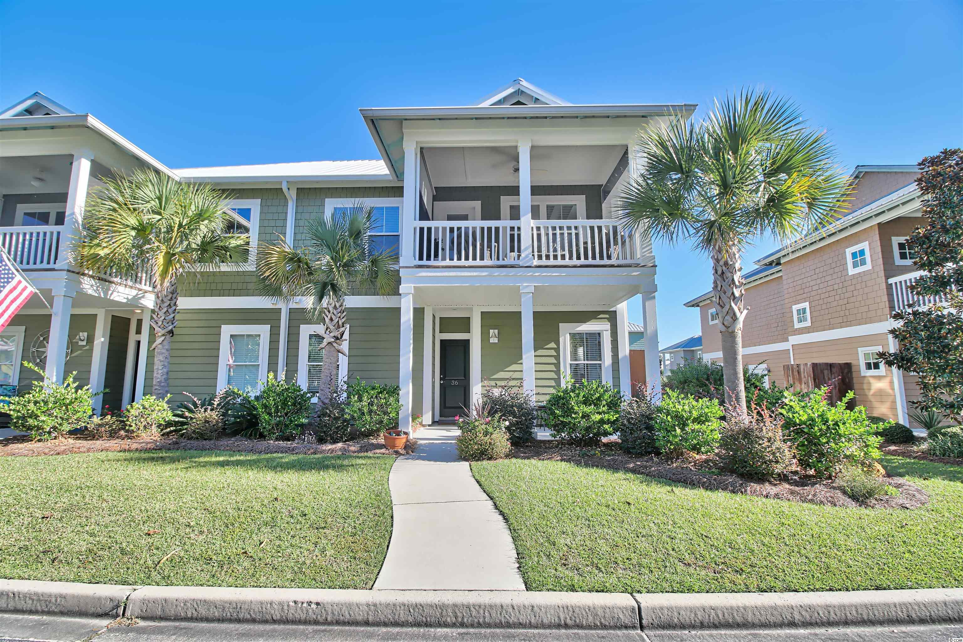 Beautiful Island Style home in one of the best locations in Pawleys Island. You feel tucked away in a quiet neighborhood with your own beautiful community pool, while you are actually walking distance to nearby restaurants, shopping, spa, library, fitness center, and bike & jogging paths. Golf courses, marinas and beautiful sandy beaches are minutes away. Myrtle Beach is just 20 miles north and Historic Charleston is 75 miles south of this historic beach resort area. This townhouse still looks brand new and has all the bells and whistles including gas fireplace, kitchen backsplash, screened porch, epoxy garage floor and ceiling garage storage shelves. Don't miss out on this beautiful townhouse in this highly sought after neighborhood.