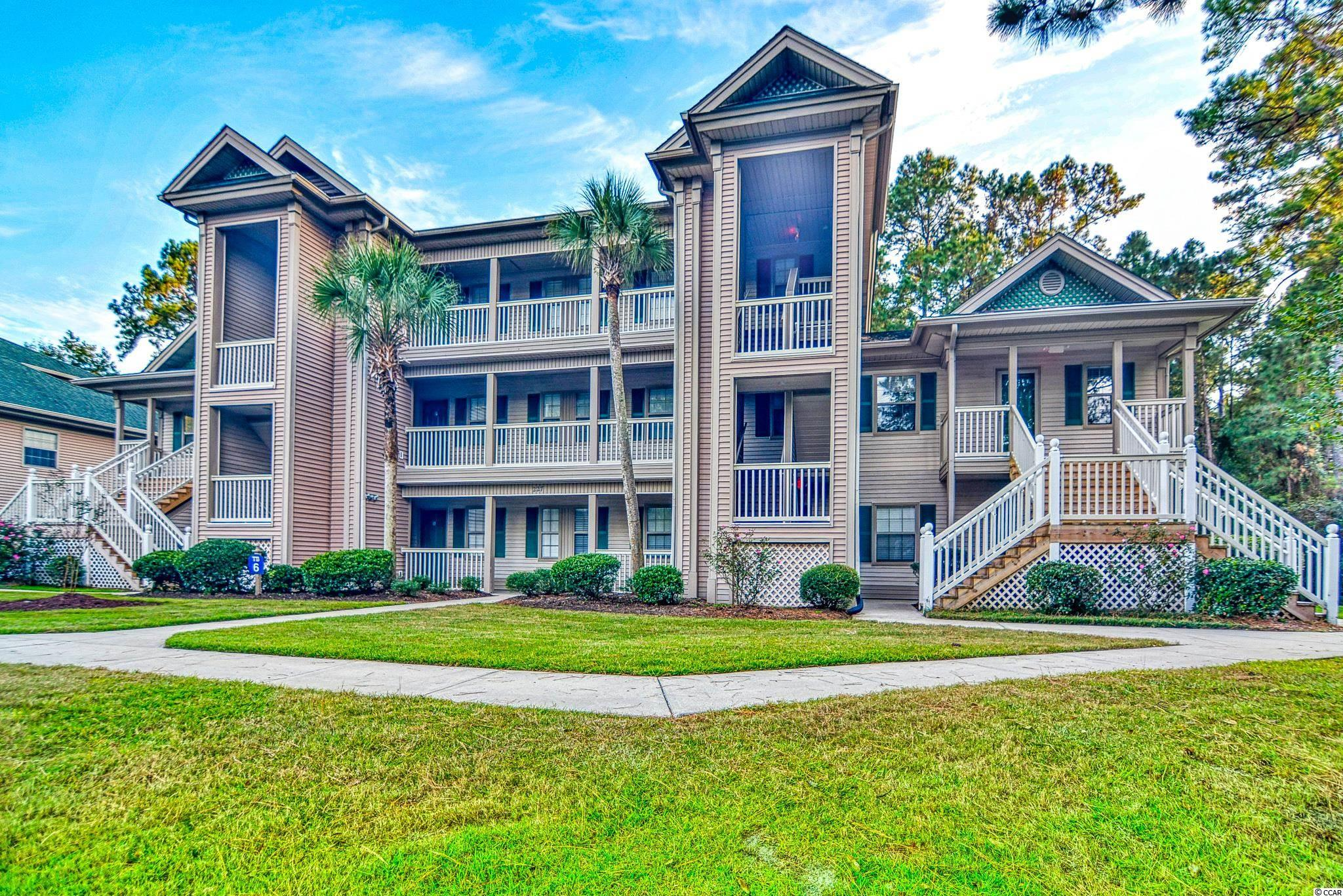 Fully furnished 2 bedroom, 2 bath end unit in the highly desirable True Blue neighborhood of Pawleys Island. Relax on your private screened porch overlooking True Blue Golf Course. Centrally located to all things in Pawleys Island, including the sandy beaches, top notch golf courses, award winning restaurants and a variety of local shops. Enjoy the community pools and tennis courts as you immerse yourself in the Lowcountry Lifestyle. A day trip to Charleston is well worth the time, or explore HistoricGeorgetown just minutes away. Convenient to the Myrtle Beach International Airport and all the live shows and attractions of one of the biggest tourist attractions on the east coast, yet far enough away where the living is easy and serenity is attainable. Use as your primary or second home, with options to rent as a vacation property for extra income.