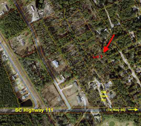 This nice wooded lot is only a few minutes from the Intracoastal Waterway, the Wacaamaw River, Little River Inlet, and North Myrtle Beach. There are no HOA fees and only a few reasonable deed restrictions in place to include requirement that the home must be stick built. Buyer will have to pay tap fees for water. Lot has perked in the past - buyer will have to verify. Sewer is at road and can be extended by buyer if desired.