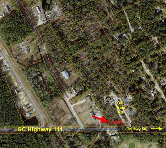This nice wooded lot is only a few minutes from the Intracoastal Waterway, the Waccamaw River, Little River Inlet, and North Myrtle Beach. There are no HOA fees and only a few reasonable deed restrictions in place to include requirement that the home must be stick built. Buyer will have to pay tap fees for water. Lot has perked in the past - buyer will have to verify. Sewer is at road and can be extended by buyer if desired.
