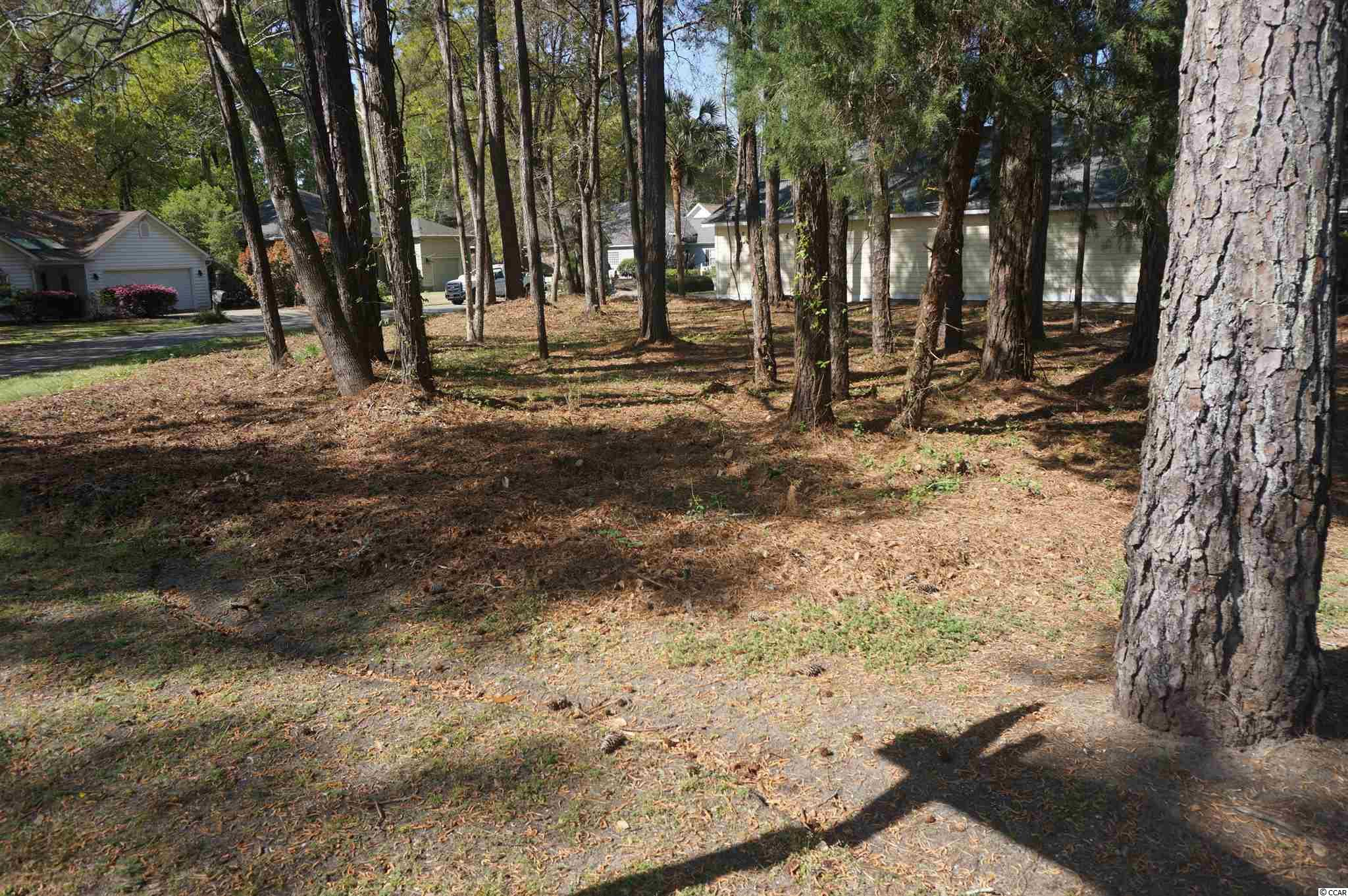 Located in Pawleys Plantation, a gated golf community.  Homesite on corner of Pawleys Plantation Way and Redwing Court;  no time limit to build.  Close to shopping, beaches, & dining.  Golf course and Country Club information available upon request.