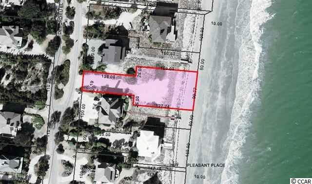 A great Oceanfront lot on DeBordieu's famous private 6-1/2 miles of pristine beach. A amazing opportunity for the perfect second or permanent home.