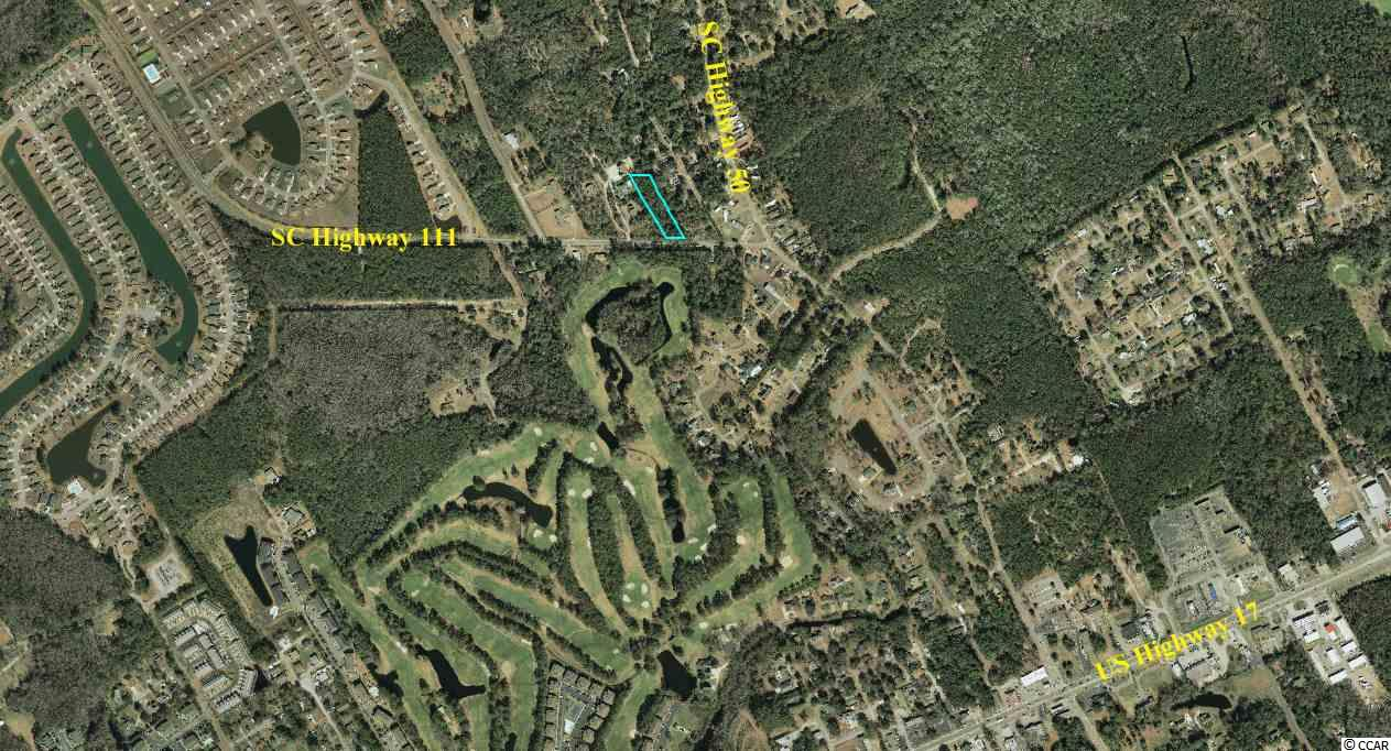 This nice wooded lot is only a few minutes from the Intracoastal Waterway, the Waccamaw River, Little River Inlet, and North Myrtle Beach. There are no HOA fees. Perfect for a mobile home or a stick built.  Buyer will have to verify acreage - tract size on listing was taken from the Horry County GIS website.