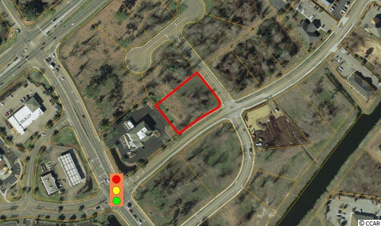 Potential owners can take advantage of visibility on Oleander Drive with this corner lot with an adjacent traffic light.  Zoned MU-M by the City of Myrtle Beach, this property is accessible from Oleander Drive and is adjacent to TDBank and Senior Living complex. Deed restrictions allow for office and retail use unlike most other lots within this subdivision.  Please contact broker for full offering details. This owner can get very creative with a good, quality deal.