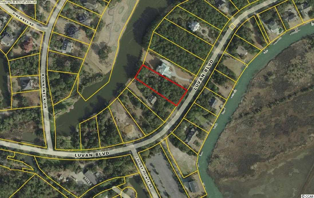 Come see this beautiful lakefront homesite with golf course and possible marsh views!   Just shy of an acre and 100 feet of lake frontage, this is the perfect spot for your vacation retreat or permanent residence.  Enjoy being only minutes away from the private beach and Beach Club, Pete Dye designed golf course and Club House and the community boat landing.  DeBordieu Colony is a very private, oceanfront, gated community located near Pawleys Island, South Carolina on the coast between Charleston and Myrtle Beach.