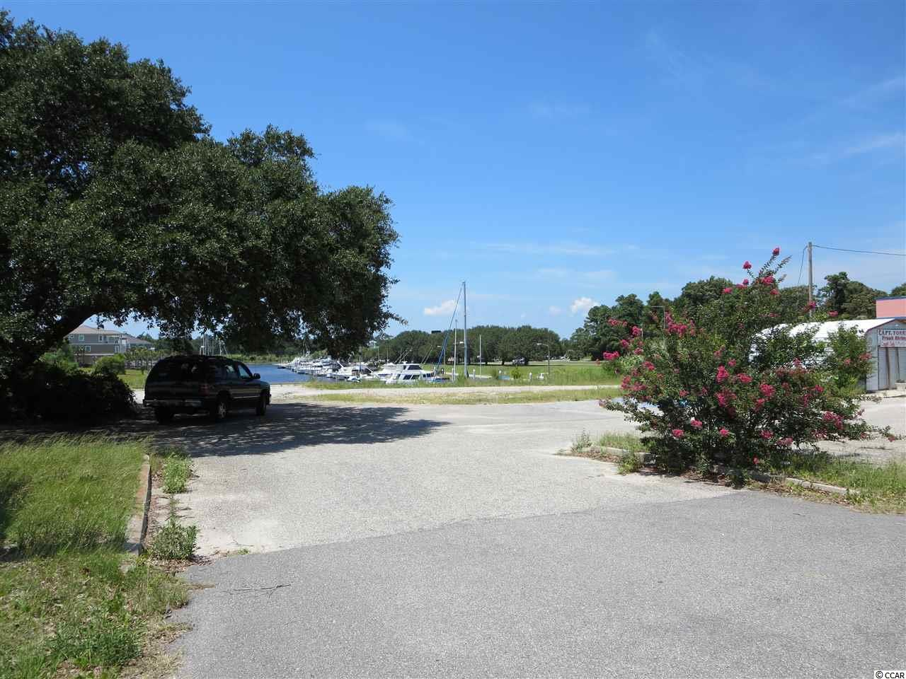 Fabulous Highway 17 property in North Myrtle Beach with great exposure to traffic count.  This 1.94 acres has direct Highway 17 frontage and a marina view.