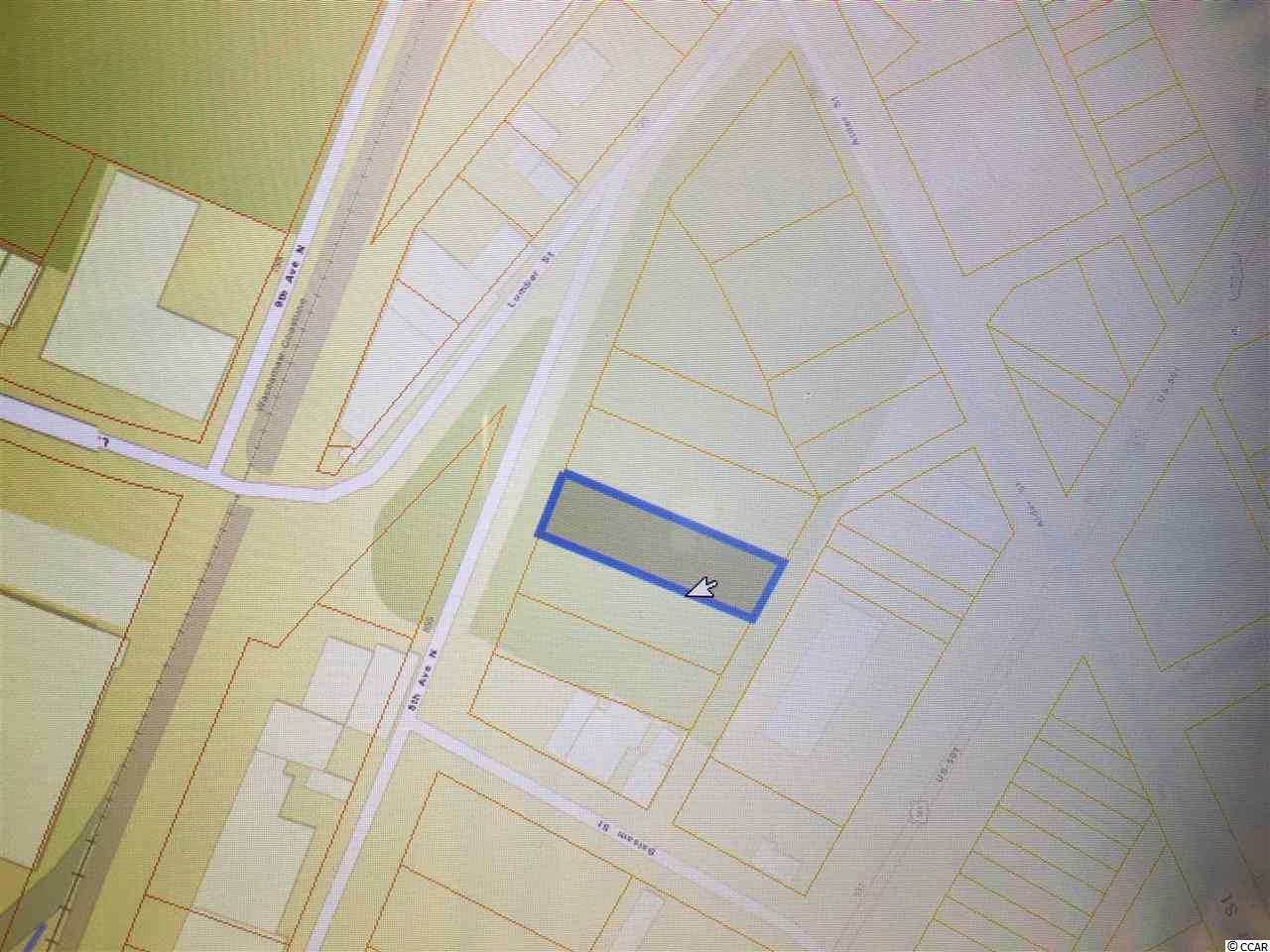 0.21 Acres in Myrtle Beach City Limits.  Zoned C-3  Close to US Hwy 501
