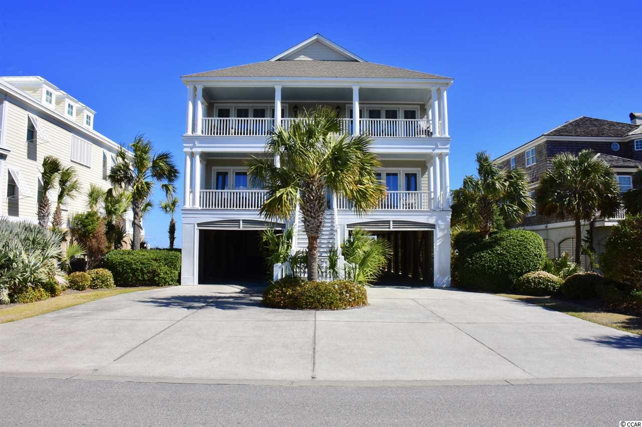 Interval Ownership--Interval IX at High Tide offers 4 weeks per year, one week each season.  Gorgeous oceanfront/creek front home located at the pristine Inlet Point South Peninsula.  You get the best of both worlds at High Tide, with direct ocean and creek access.  Watch the sunrise over the ocean in the morning, and then set over the creek at night.  High Tide shares a dock with its neighbor, but has it's own personal floating dock, with community boat ramp close by.  The home is expertly decorated and includes Brazilian cherry floors, 6 bedrooms all with their own private bath, gourmet kitchen, fireplace, two wet bars, and huge porches.  Inlet Point is a prestigious gated community with 24 hour security.  This is a must see, you will not be disappointed! All measurements deemed accurate but must be verified by purchaser. Interval VIII can also be purchased together allowing for back to back weeks.