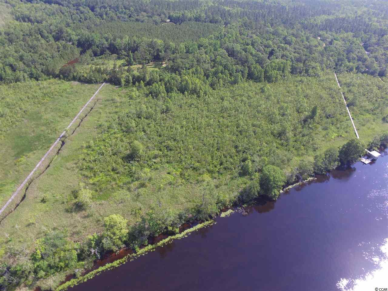 Welcome home to your plantation home-site. Many options abound as you enter this oak filled property. With over 9 acres of uplands and 1000 ft. on the Black River, you have many development opportunities.