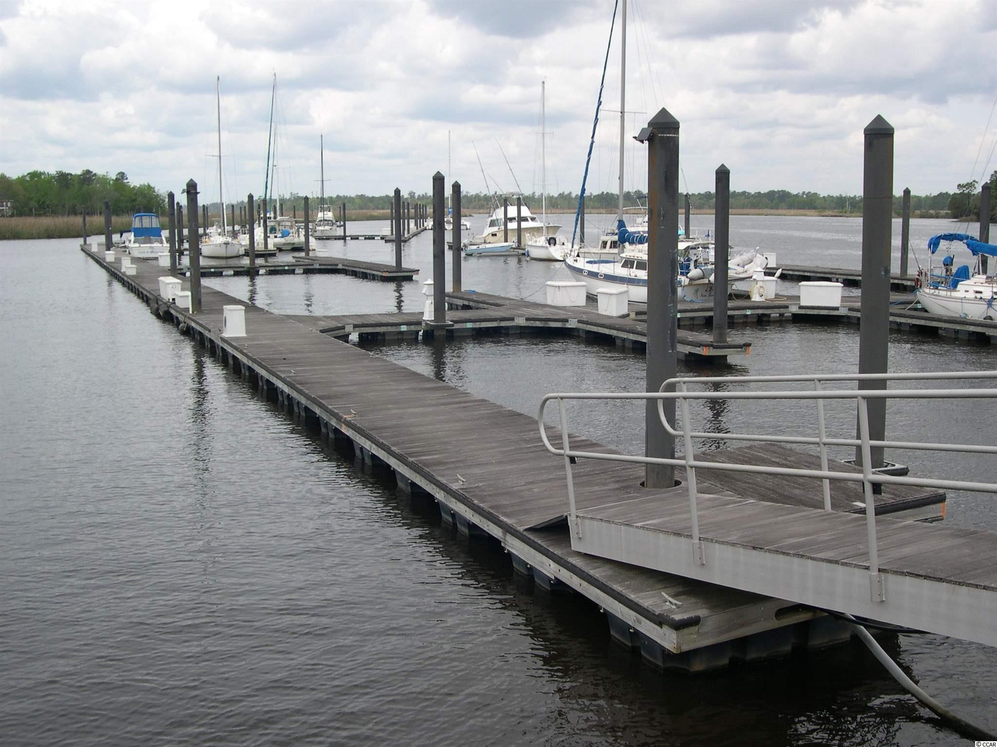 "This is your chance to own one of the largest boat slips in Friendfield Marina located on the Sampit River.  It will accommodate a 30 foot boat and is the prime location  ( boat slip #1) as you come down the ramp to the docks.  It is an inside dock protected from the river. Seller says  ""bring all offers""  AT THIS TIME:  YOU MUST BE A PROPERTY OWNER IN HARMONY TO PURCHASE A BOAT SLIP.  AND THERE ARE LOTS AVAILABLE TO PURCHASE.  CALL ME FOR INFO."
