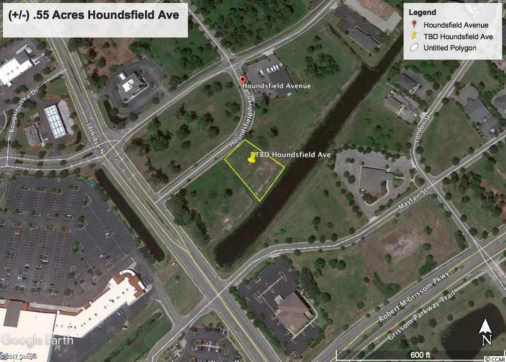 (+/-) 0.55 Acres in Oleander Business Park.   Excellent opportunity to build and own your own business location.