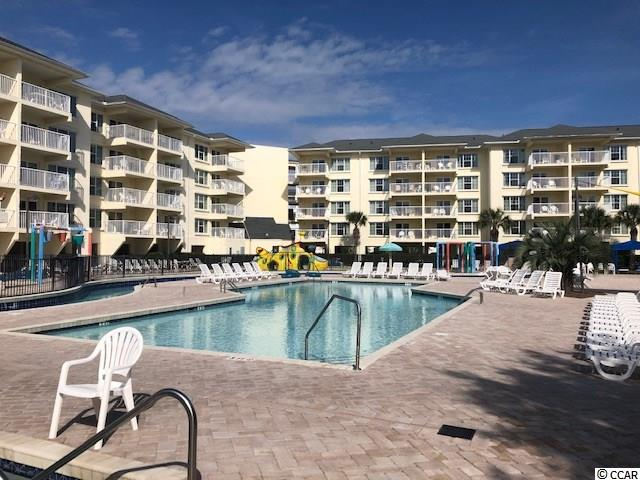 Highly desirable condo in thee Litchfield beach section of Pawleys Island with full access to all Litchfield by the Sea amenities. Beautiful view of the pool and all water facilities. Elevator, steel construction building overlooking the pool/waterpark.furnished, fully equipped kitchen, bedroom with two queens with walk in shower, and much more. located on the first floor with easy access to the lazy river and pools. Starbucks, fitness center, Spa, all within easy walking distance.