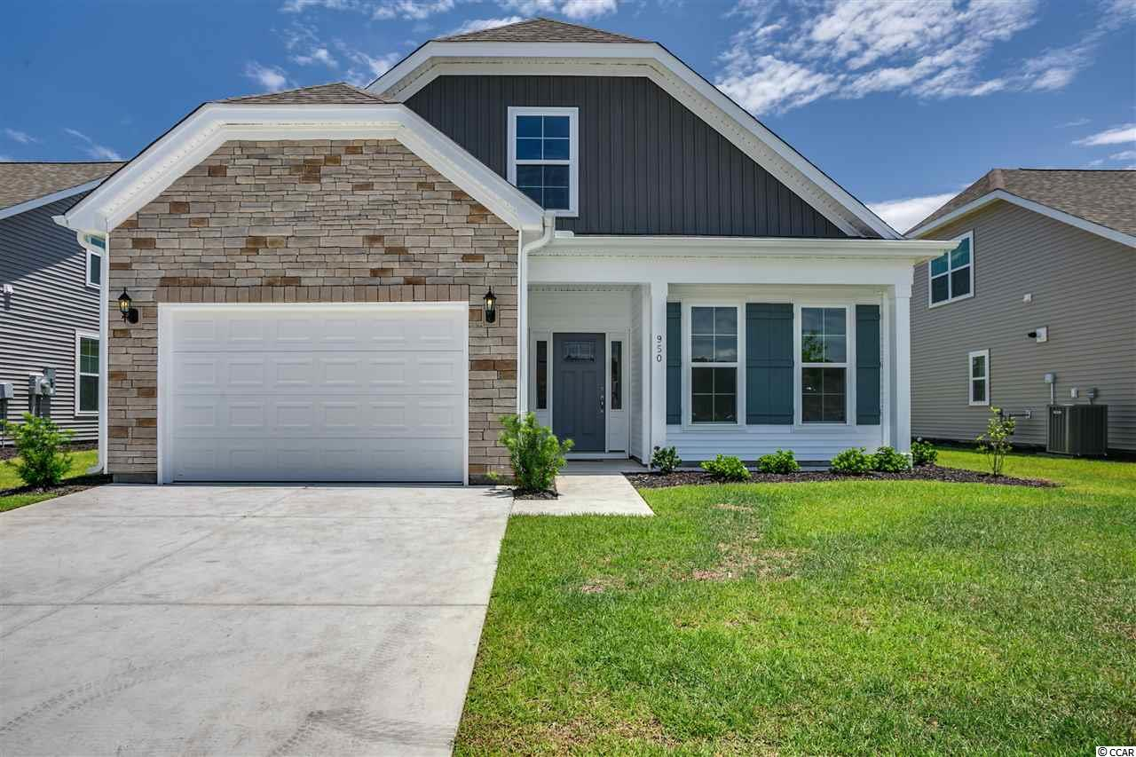 GARDEN HOMES: Beautiful New Garden Home in Cypress Village, A Natural Gas Community featuring a gas Rinnai tank less hot water system, gas heat, and as an option gas cooking. Home offers an open kitchen and living area design with lots of natural light, plus an oversize 1.5 Garage.  Standard features include granite counter tops and SS appliances in the gourmet kitchen. A first floor Master Bedroom suite has a huge walk-in closet off the master bath with a linen closet with plenty of storage. A split 2nd bedroom floorplan with bath. A bonus room on second level offers access to attic storage or as an option, a private guest suite.   Low HOA offers weekly lawn maintenance, trash and recycle and resort style pool, cabana, and gym.  Lots more to come and see!