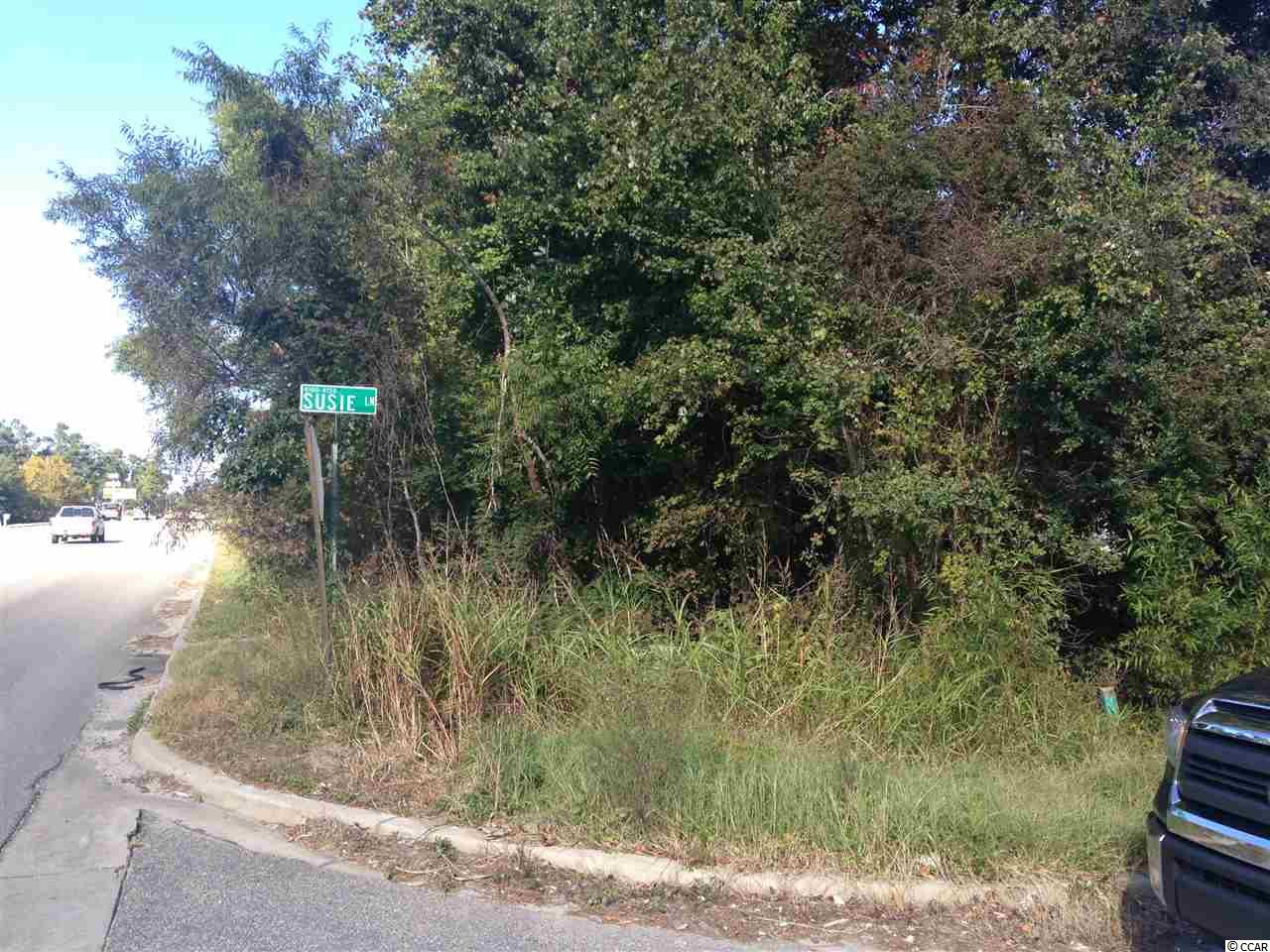 Great location on the corner of Hwy 544 and Susie Lane. Over 180 ft of road frontage on Hwy 544. Property has a two water and sewer taps. Double wide and single wide on property and will be sold as is. Property zoning allows for many opportunities.