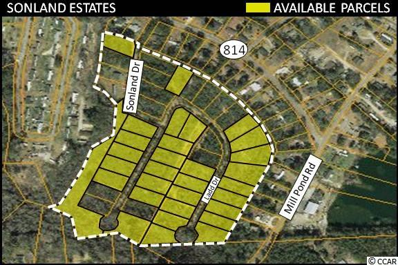 Located in Myrtle Beach, SC., the second fastest growing metro area in the country, this unique portfolio of 31 vacant residential parcels is ideal for new home development. The parcels are zoned (Manufactured/Single Family - MSF 20) which allows Single Family & Manufactured Home developments. Motivated Seller!