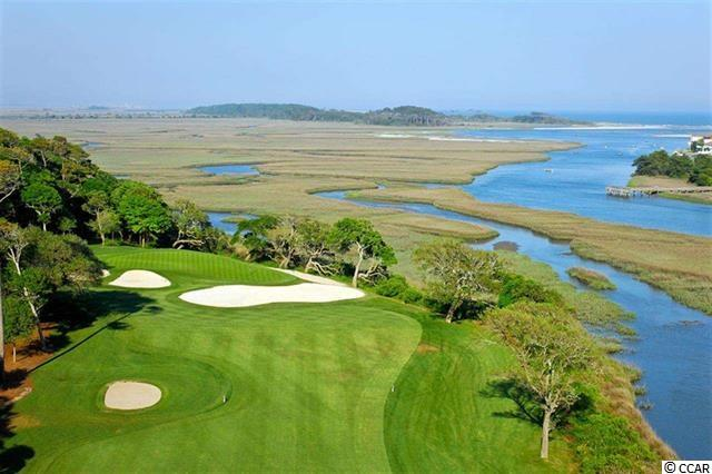 "Premier golf course/marsh front-/panoramic-view lot in the beautiful Bluffs of Tidewater Plantation Resort. Good road frontage. Perfect lot to build a dream home, with perfect location specifically selected to be out of the trajectory of golf balls. This luxury lot also boasts some of the most stunning scenery in the area of top-rated Tidewater Golf Course, the marsh and the Cherry Grove Inlet. The 13th hole, on which it is well situated, is often referred to as the ""signature hole"" in Tidewater, with the most must-see inclusive Cinerama scenery, just breathtaking! RARE OFFERING for a discriminating builder, investor or home buyer.  No time frame to build. NO FLOODING EVER!  Amenity-rich Tidewater is a 24-hour, manned gated community on a tree-lined road to oceanfront Anne Tilghman Boyce Coastal Reserve, a nature conservancy, including Waties Island, with access for managed recreational use. Tidewater itself is on an elevated peninsula of live oaks and southern pines between the Intracoatal Waterway and the Cherry Grove Inlet to the Atlantic Ocean. The plantation also preserves the unique look of its own historic origins. It is minutes from the beach, shopping, entertainment and access to major highways.  The development has a private owners' beach cabana on the wide, white sands of the Cherry Grove Beach. This lot enjoys that pristine environment, along with the world-class reputation of the Tidewater Golf Course, the Pebble Beach of the East.  Tidewater amenities at low HOA fees include that oceanfront beach cabana. Bluffs residents enjoy the use of 3 pools/hot tubs. The pool in the Bluffs is, however, exclusive to its residents. Other amenities include driving range, putting green, golf shop, clubhouse with bar and dining overlooking the 18th hole, clay & hard-surface tennis courts, pickle ball, fitness center, bocce courts, amenity center/more. There is even a gated storage yard for boats, campers, recreational vehicles and the like. HOA building conveniently on site with library and event, meeting space.   Singular Tidewater Plantation truly reflects a wonderful ""way of life."" Welcome to the Beach!"