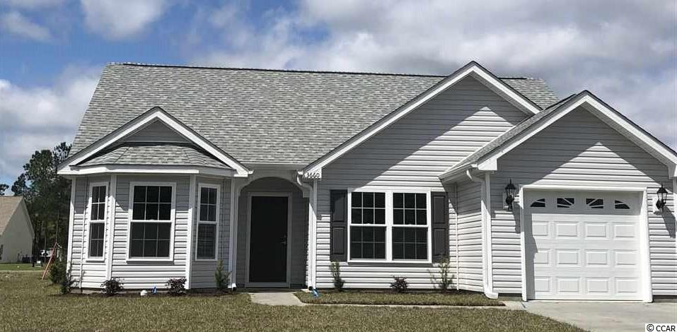 This is a Melanie floor plan with the standard package in our new Fountain Pointe Village Subdivision. Our standard package includes upgraded cabinets, stainless steel fronts on appliances, vaulted ceilings (per plan), carpet and vinyl flooring, along with irrigation system and landscaped yard. One of many BRAND NEW HOMES to be built at INCREDIBLY LOW PRICES in Fountain Pointe!! Call today to set a time to meet on-site and pick out YOUR favorite lot and house plan or to receive an email package of these NEW HOMES being built for THOUSANDS LESS than similar homes at the beach!!