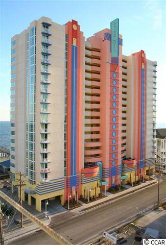 This delightful 1 bedroom offers floor to ceiling windows with great ocean and mash views.  Fully furnished and accessorized. The unit also features a private balcony.  Outside pools, lazy rivers, kiddie pools, top of the line fitness center, oceanfront restaurant and lounge, and just steps from the famous oceanfront Cherry Grove Fishing Pier tackle/souvenir shop, grill and tiki bar.  Prince Resort is a favorite North Myrtle Beach destination.  Come and buy your own piece of paradise!
