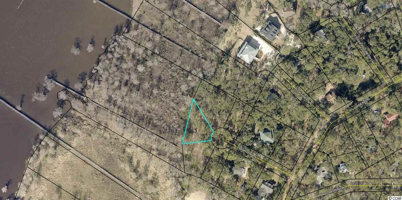 Beautiful homesite on this secluded river front property with unobstructed views of the Waccamaw River.  Build your dream home under the old oak trees on this charming street.  You will enjoy the surrounding picturesque scenery and views  from your hillside home site reported to be the highest point in Georgetown County.  Watch the boats float by on the Intracoastal Waterway/Waccamaw River.  Enjoy sunset boat rides with friends and family or a trip to Georgetown to enjoy dinner on Front Street.  Or even spend a day boating to Myrtle Beach or Charleston from your dock!  Don't miss this opportunity.