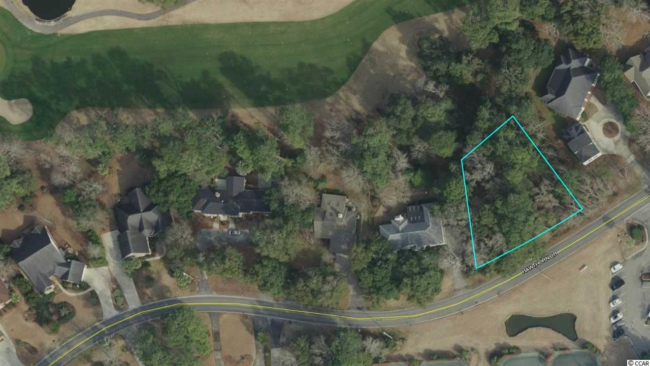Wooded lot overlooks beautiful 8th fairway. Build your dream home and enjoy Lowcountry coastal living within the long established golf course community of Litchfield Country Club. Active voluntary HOA with restrictions. Easy access to the beach by bicycle or golf cart. Convenient to great local dining and shops. Public boat launches to the Waccamaw River nearby.