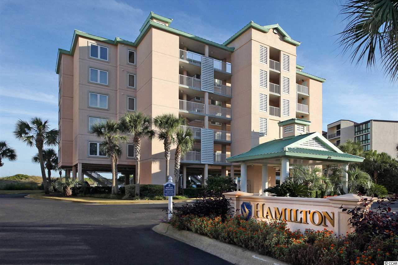 The Hamilton, a prominent fixture, where only 20 units reside is situated in the gated community of Litchfield by the Sea. This direct, oceanfront condo is in immaculate condition while offering 3 bedrooms and 3 full baths.  The interior is offered fully furnished.  In addition, the master bathroom have been completely remodeled for a luxurious feel. You're new to you unit is just steps away from the pristine sand of the Atlantic Ocean.  Relax on your expansive oceanfront balcony complete with picturesque views and ocean breezes.  Truly tailored with recent updates, this condo awaits your next vacation getaway. Conveniently located near grocery stores, restaurants, top notch medical care, and attractions such as the award winning Brookgreen Gardens and Huntington State Park. Enjoy all the amenities of Litchfield by the Sea including tennis, fishing, walking and bike paths, marsh and creek access, & the one of the best beaches in South Carolina! You will love this low maintenance & carefree lifestyle.