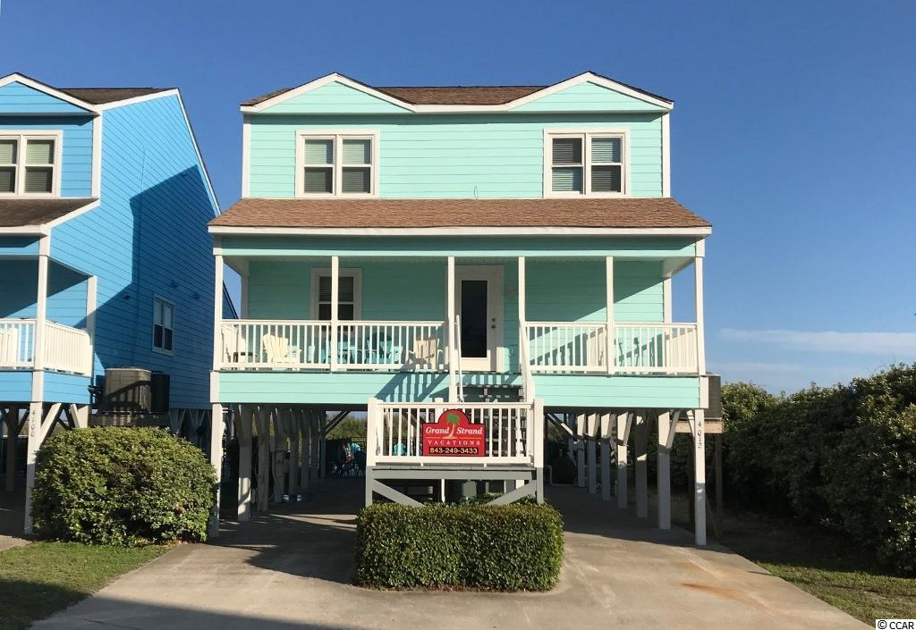 Pristine 6 bedroom, 3 1/2 bathroom, oceanfront home.  Located in the heart of the popular Cherry Grove Beach.  Outdoor pool and spa with the beach in your backyard.  This home is turn key for rental, primary or second home.  Great opportunity to own your vacation paradise! Measurements are approximate and not guaranteed.  Buyer to verify.