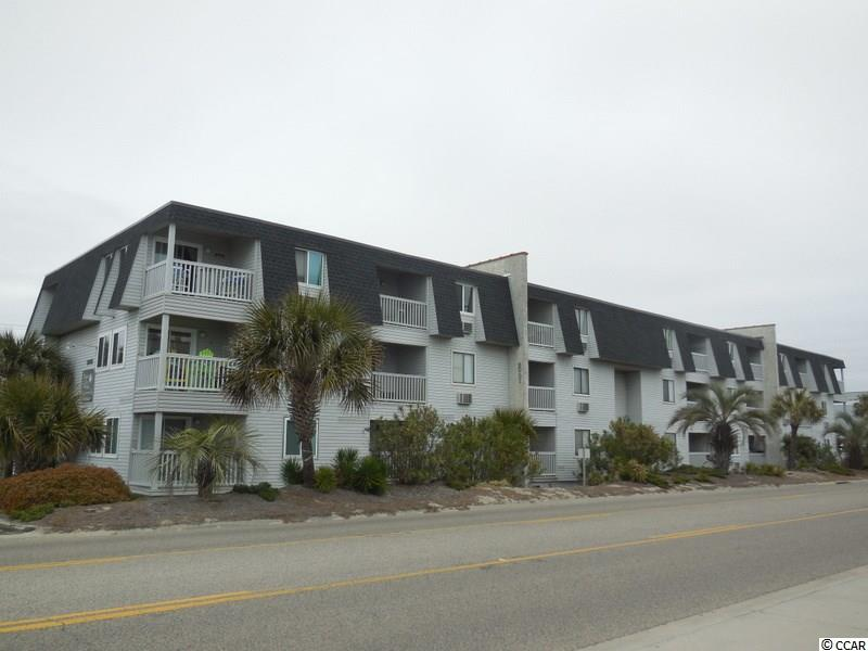 Great two bedroom two bath condo across the street from the ocean.  Fully furnished and ready to move in!  Lots of sleeping room with double bunk beds in second bedroom. Views of the channel off of the balcony and master bedroom.