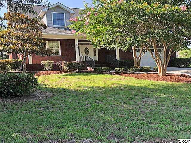 All Brick Executive Home located only four blocks to the Beach in Cherry Grove. This home shows Beautifully and is priced right. Custom made cabinets, with all granite counter tops with Stainless Appliance's  All rounded corner walls, Huge Attic for that extra needed storage space. The Bonus Room is 24x14. This can be that 5th bedroom for the mother in law. Make it the  Theater or Game room also. This over sized room has many options. Built in Desk upstairs with built in book shelves. Two Heat Pumps, Outside sprinkler system. All measurements,features and zoning are approximately and should be verified by the buyer and not guaranteed. Seller is a S.C Broker