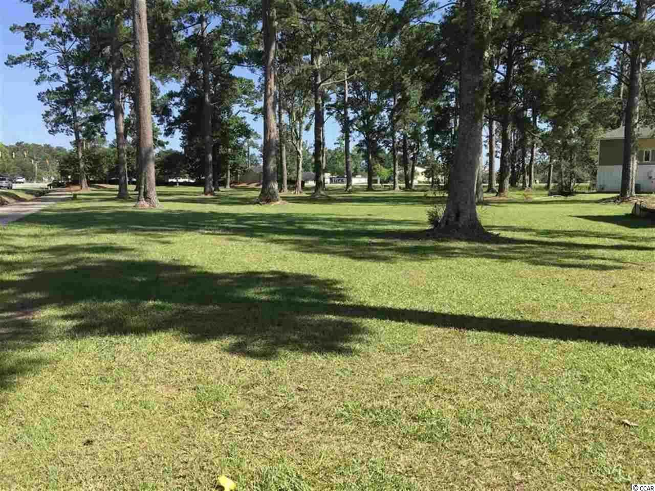 Opportunity to own land in the heart of Myrtle Beach.  Property is zoned RNV - Residential/Allows Visitors (which means short term rentals are allowed).