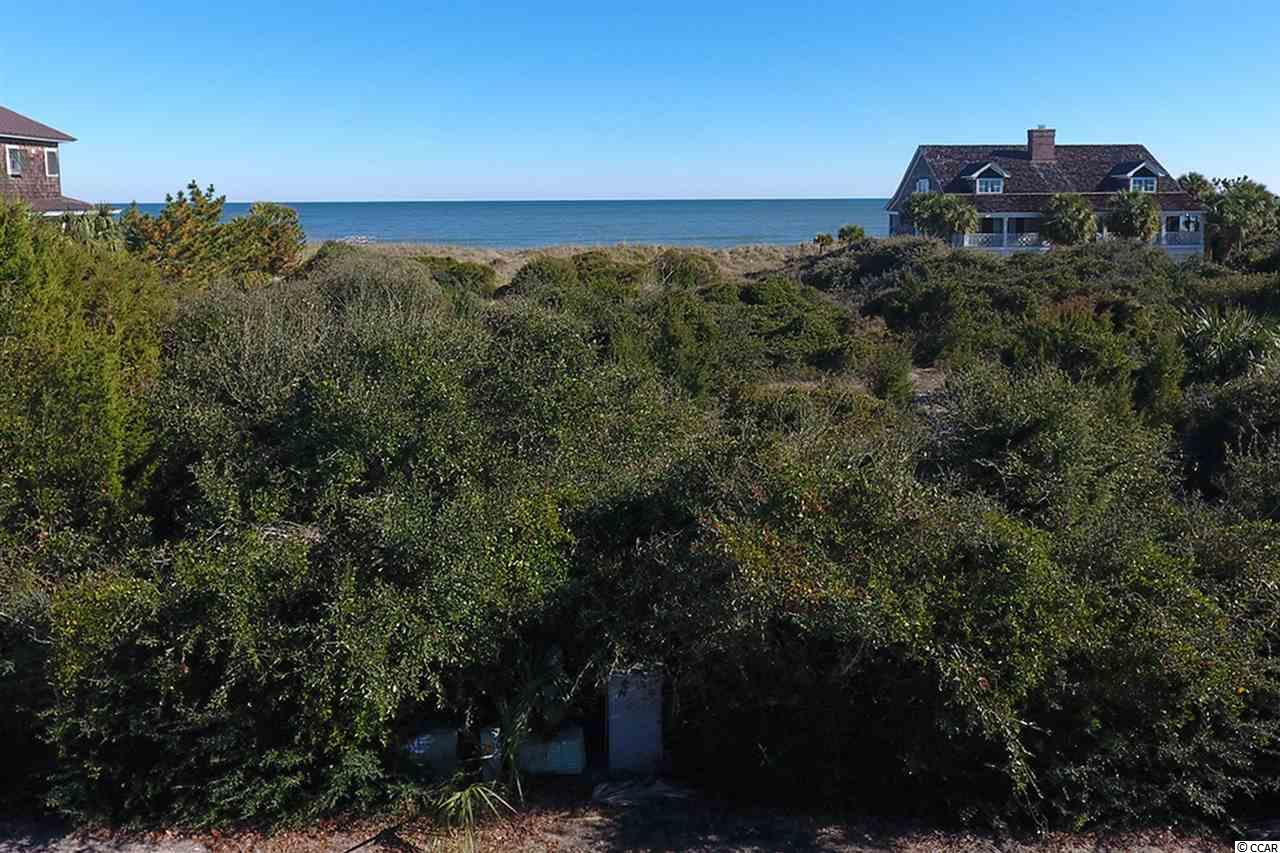 Spectacular back flag Oceanfront lot on DeBordieu's famous private 61/2 miles of pristine beach. Perfect for a second or permanent home. Call Geoff for all details regarding this property and Beach restoration info.