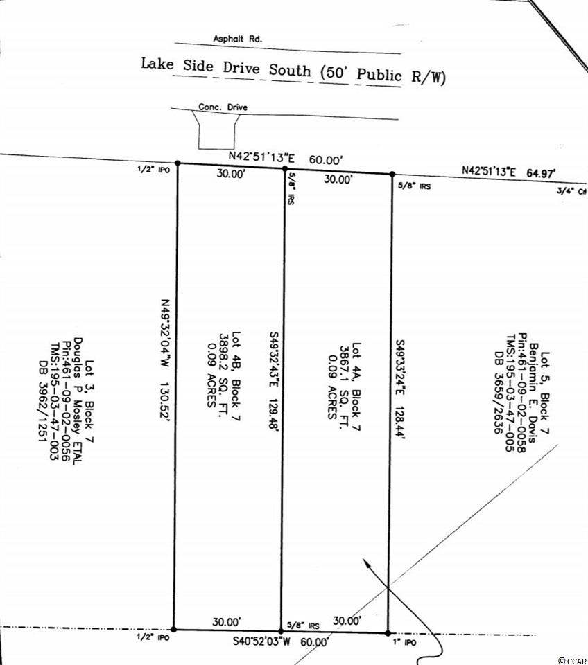 Great lot located in the weekly rental district of Surfside! A short walk to the ocean and only a few blocks away from the Pier! This lot is an amazing investment opportunity to build your vacation home!