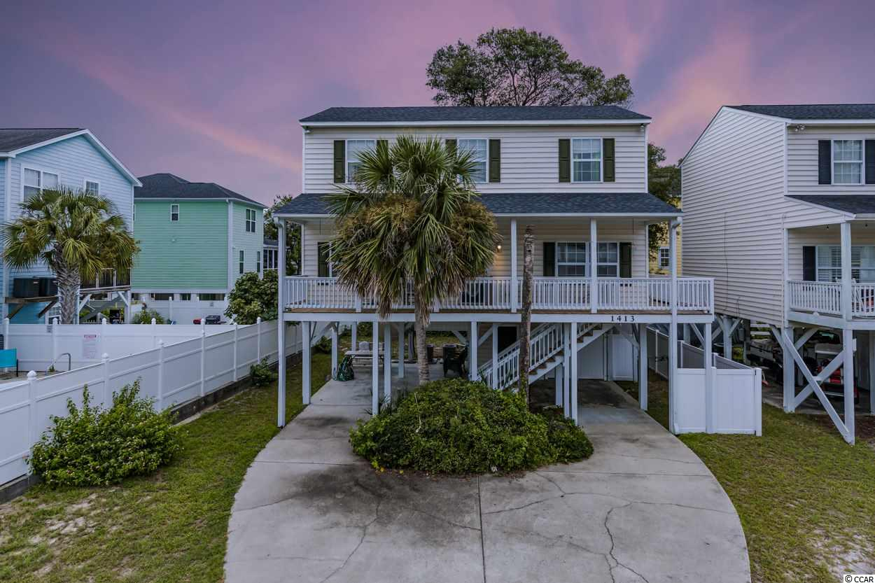 $5,000.00 DECOR UPDATE ALLOWANCE WITH FULL OFFER!! NO HOA!  WALK TO THE BEACH!!  This beautiful 4 bedroom, 3 bath, fully furnished beach house is a great place to make family memories.  The HVAC system and roof were both replaced in 2016.  The front porch and railing are in the process of being replaced.