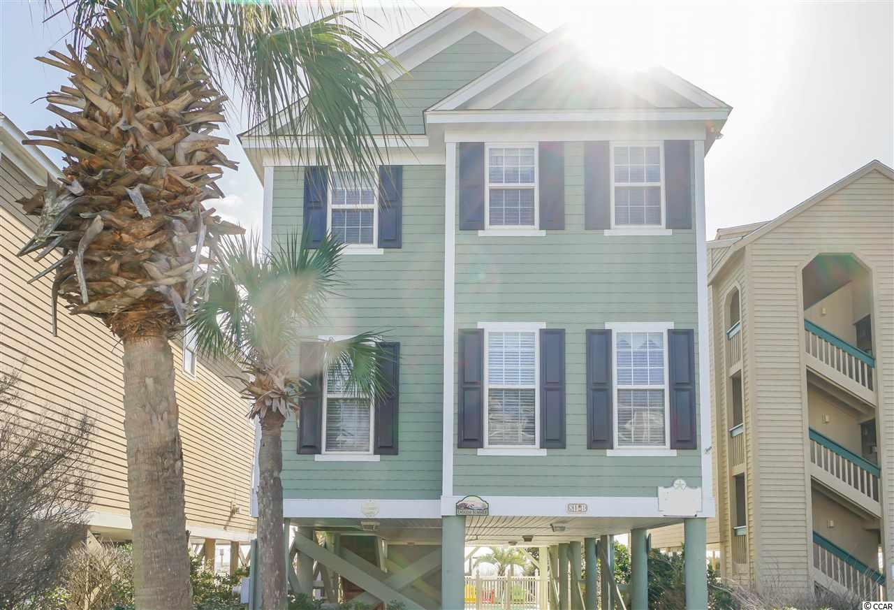 This house, aka 'Endless Summer' is direct oceanfront on Surfside Beach with endless unobstructed views of the Atlantic Ocean. Covered oceanfront porch overlooking the private heated 21' x 10' pool (newly resurfaced pool & brand new electric pool heater).  Private walkway directly to the beach.  Large open living area with tile floors, new large flat screen TV, and a queen size sleeper sofa. The oceanfront master suite features a king bed, Jacuzzi tub, double vanity and endless views of the beach & ocean. Being sold fully furnished and rental ready with bedding setup to accommodate 14 guests. Sufficient parking for five vehicles.  This home is a rental workhorse that produces incredible numbers annually.  New roof 2017.  This investment opportunity won't last long.