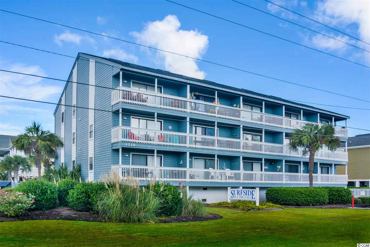 """3bd/2ba ocean view condo located in Surfside, also known as the """"Family Beach"""" - just across the street from the ocean! Great for an investment property OR as a second home! Enjoy your morning coffee on the porch facing the ocean. This unit boasts lots of great features like vaulted ceilings, walk-in closets, spacious breakfast bar, ceiling fans, and much more. Also, enjoy access to the ocean view community pool! Keyed storage available under building - perfect for storing bikes, chairs, and other beach gear! Surfside by the Sea HOA welcomes owner's small pets including cats and dogs. Surfside Beach is just a few minutes to everything Myrtle Beach has to offer including Coastal Grande Mall, Tanger Outlets, marinas, public docks, landings, restaurants, golf courses, shops, entertainment, Myrtle Beach International Airport, Broadway At The Beach, The Market Common, Barefoot Resort and Coastal Carolina Univeristy (CCU)."""