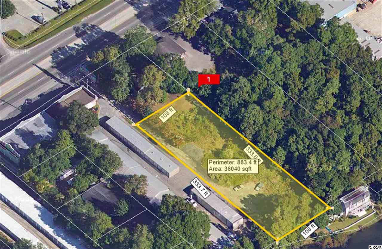 Prime .83 acre commercial building lot. Property is located on the East side of US Hwy 17 Business. This would be an ideal location to build your business as Highway 17 Business is very popular with visitors and locals alike. Property is vacant, so drive by and see what the area has to offer.