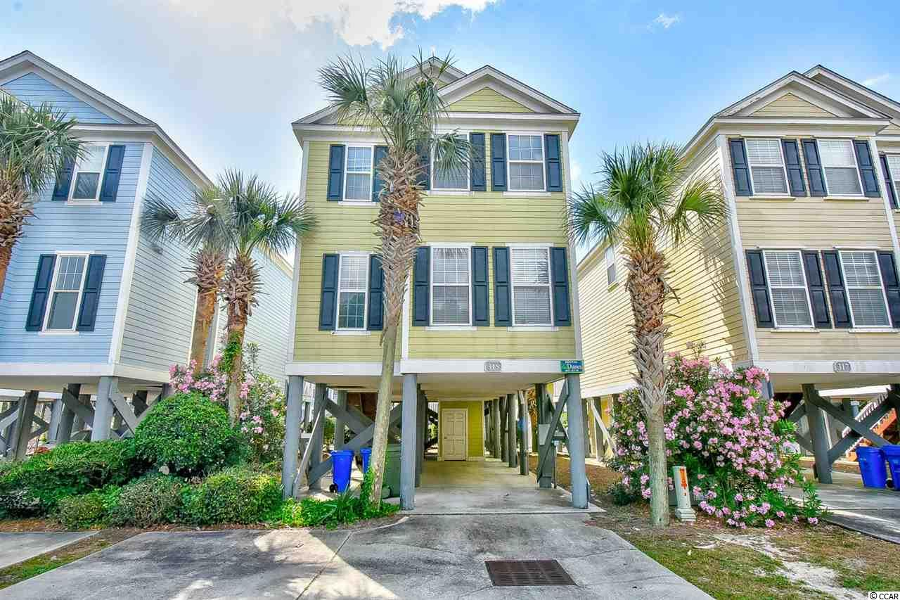 This beautiful 4 bed, 3 bath raised beach home is located in a small community of only 13 homes only 100 yards from the sand! Coming fully furnished, this property has so much to offer including a partial view of the Ocean and a great view of the pool from the porch. The master suite has a large master bath with a jacuzzi tub! The kitchen offers lots of cabinet and counter space and is perfect for cooking any meal. The living room provides a large area for family and friends to gather. Conveniently located to Surfside Beach Pier, area attractions, dining & entertainment, shopping, the airport, golf courses & so much more!  Schedule your showing today.