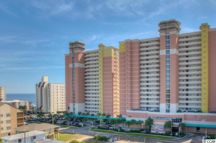 Looking for an oceanfront condo that is not too high or not too low?  Baywatch 503 is a great low to mid level 1 bedroom, 1 bath oceanfront condo that is well maintained with many upgrades.  Baywatch 503 is ready to occupy today with nice furnishings.  Smell the salt air while having your morning coffee on the private balcony and listening to the soothing waves.  Enjoy your day on the sandy beaches and swimming in the ocean, or sunbath by the poolside.   Baywatch offers many amenities like indoor and outdoor pools, lazy river, kiddie pools, restaurants, gift shop, fitness center, convention space, and much more.  Call today for your private viewing.