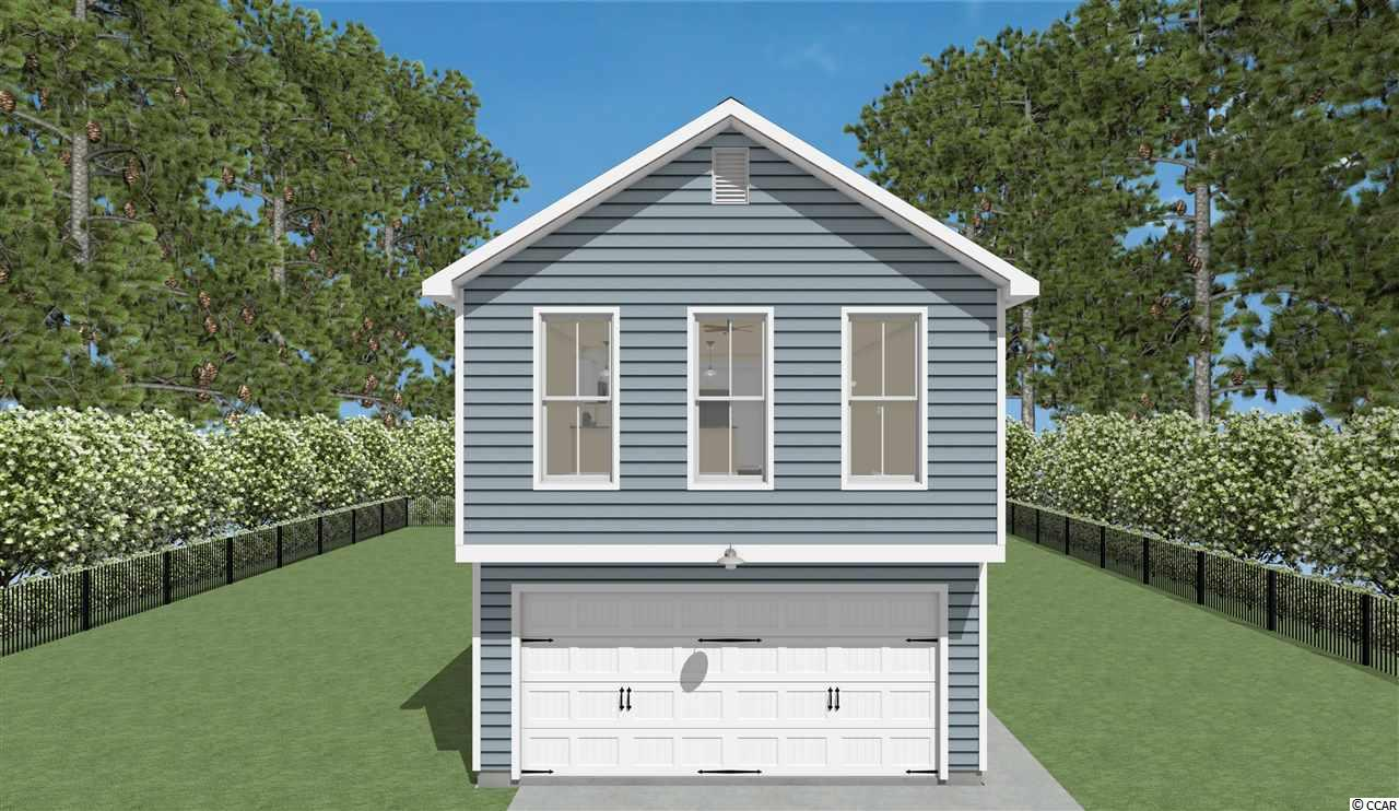 """BRAND NEW Two-Level Beach Home To Be Built.  This Homesite Is Located A Mile From The Beach!  Ideal Primary Home or Beach Getaway! Enjoy Easy Living At Jamestowne Landing, Which Has An HOA That Manages The Homeowners Insurance, Exterior Maintenance, Trash Pickup, Cable TV, Lawncare/Landscaping, Pest Control & Community Pool Which Is Only Steps Away. GOLF CART TO THE BEACH Straight Down Jamestown Rd/Atlantic Ave To Multiple Garden City Beach Access Points (1.25 Mile Route). Enjoy All The Garden City Beach Restaurants, Garden City Pier, Arcade & Shops. Restaurants & Shops Are Within Walking Distance Of Community As Well.  The """"Coastal II"""" Model Offers 3 Beds, 2.5 Baths.  FIRST FLOOR MASTER SUITE W/ Walk-In Closet & Spacious Shower W/ Glass Door. This Model Has An Open Floor Concept That Focuses The Main Living Areas and Main Bedroom on The Ground Level.  Gorgeous Kitchen W/ Granite Tops, SS Appliances-Including Refrigerator.  Direct Access To (Optional) Deck Located Off Living Room.  Additionally, The Ground Level Has A Half Bath, Convenient For Guests.  Upstairs There Are Two SPACIOUS Bedrooms W/ Walk-In Closets and One Full Bath Which Is Centrally Located.  2-Car Parking Pad Plus Shared Parking Throughout The Community.  Plenty of Room for your Toys, Including a Small Boat. Photos Are Of An Existing Home Previously Sold.  Upgrades Available For Your Customization. Several Floor Plans Available For This Site. Lot Is For Sale Also, Call For More Info.  Sq. Ft. Is Approximate And Not Guaranteed, Buyer To Verify."""