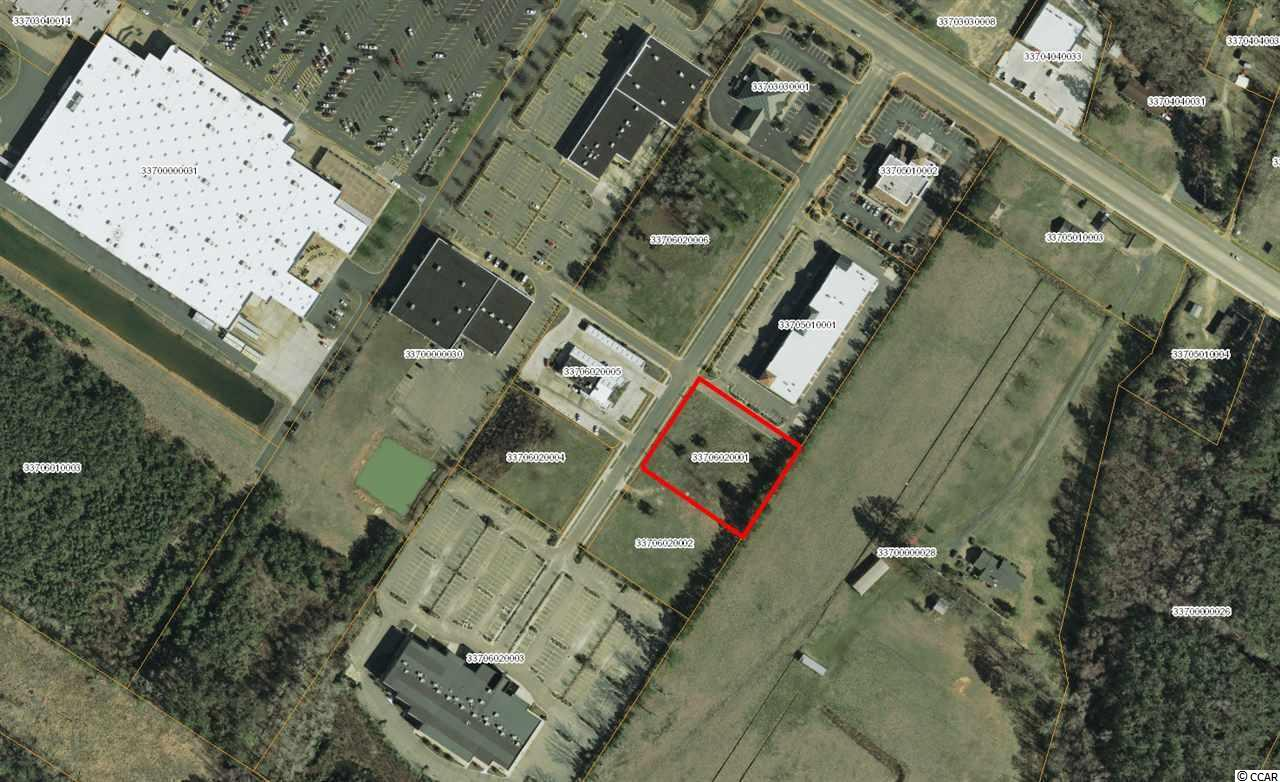 1.06 acre commercial lot located within Rivertown Commons off Hwy 501 in Conway.  Site is cleared with off-site stormwater detention.  HC Zoning.  Rivertown Commons is an established development featuring retail, restaurants, financial services, and a movie theater.  The development also has connectivity with Gateway Plaza (Walmart, Office Depot, Dollar Tree, Burke's Outlet, PetSense, etc.  Property is located with Conway city limits.  The population within a 5 mile radius is 32,093.  Average daily traffic count on Hwy 501 is 24,500 (SCDOT 2017).