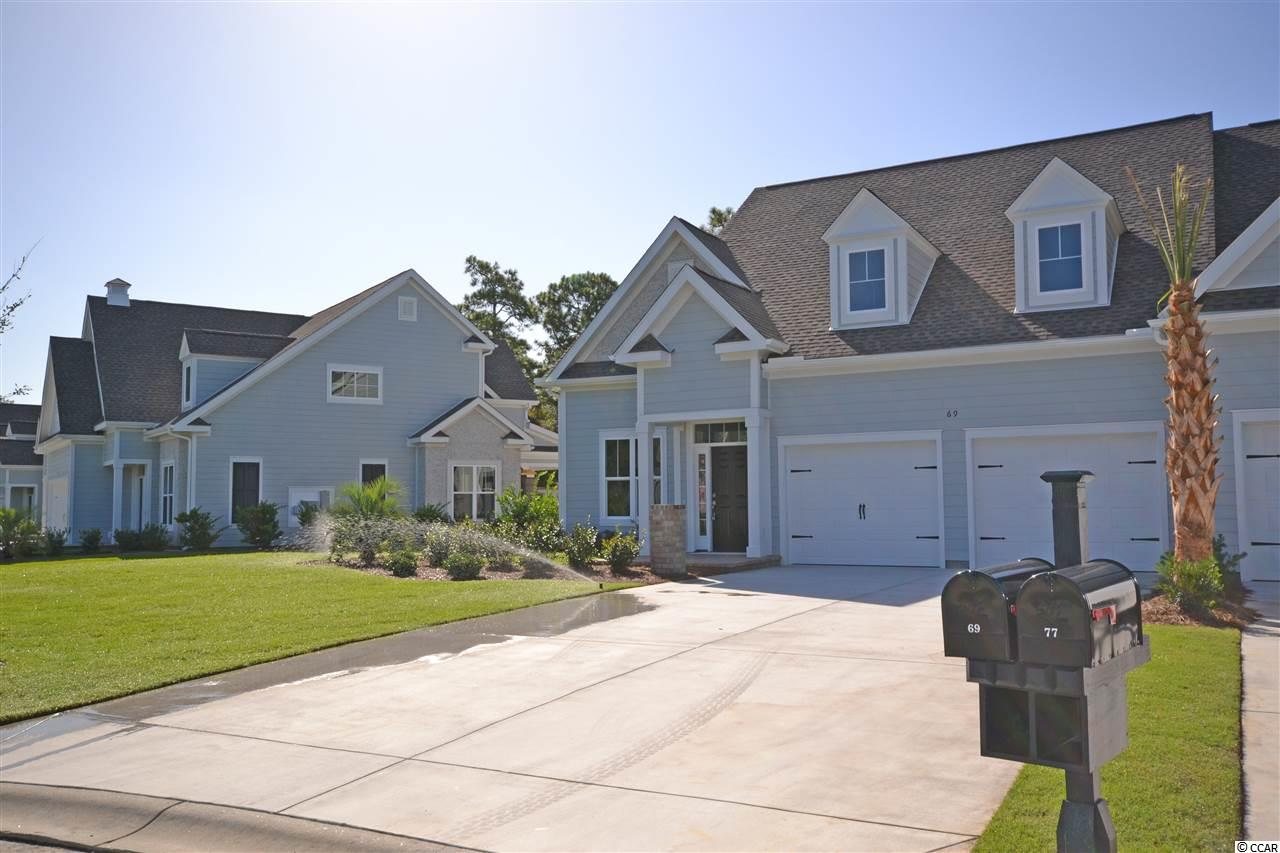 The last new neighborhood in The Reserve Community, Reserve Club Villas consists of a 14 member townhouse community with 7 duplexes. As a member of The Reserve Club Villa HPR, The Reserve Community Association and Litchfield By The Sea Resort Community Association the amenities are limitless including private beach access. What are your opportunities today; early tee time, boat ride up the Waccamaw River, tour of Brookgreen Gardens, walk on the beach, fish, crab, historical tour? All villas are 3 bedrooms and 3.5 baths.  Some features can be customized.  Model is available to see!  These villas spare no details and encompass maintenance free living as the exterior is completely maintained by the property management company!