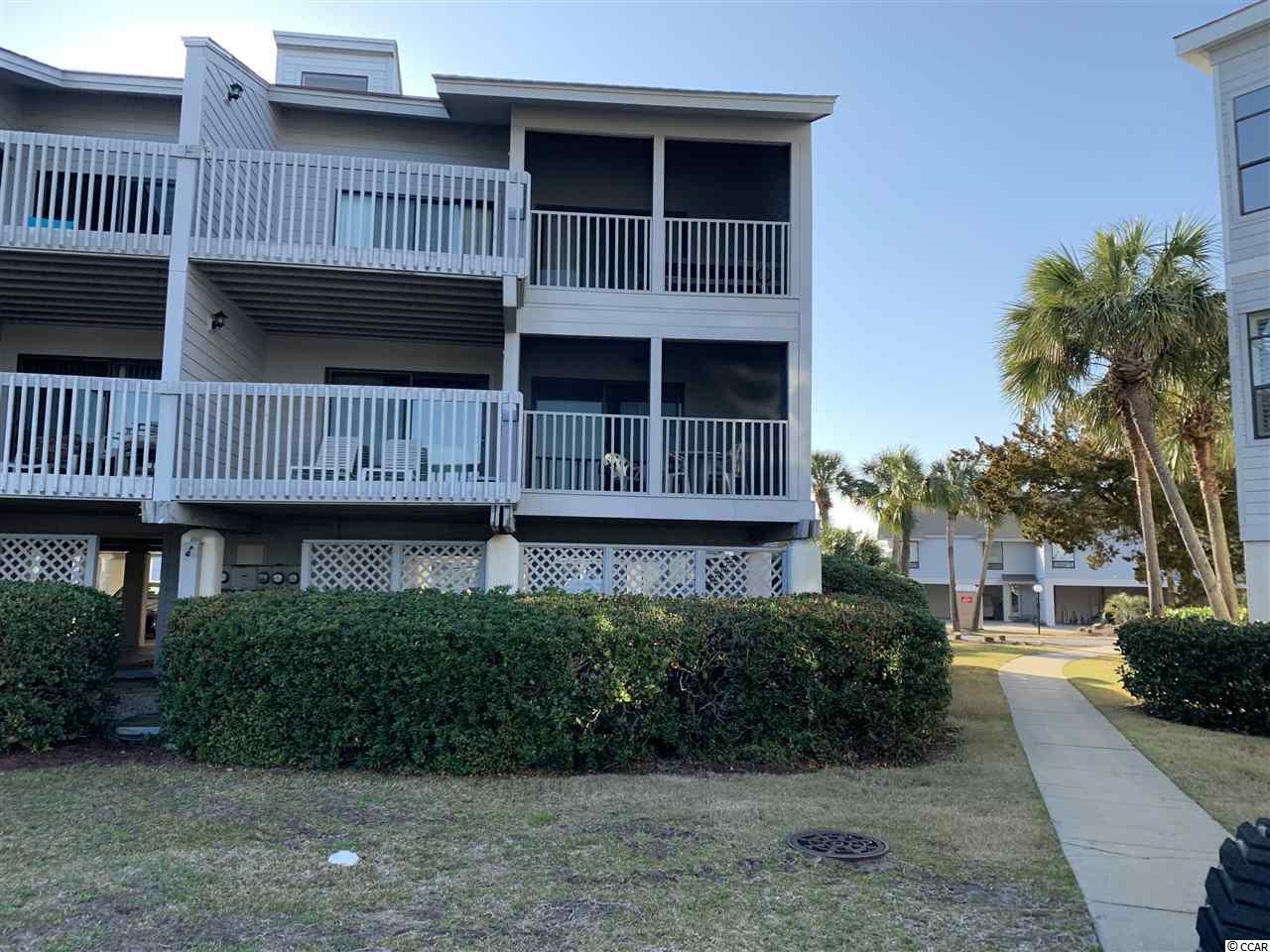 This beautiful 2 bedroom, 2 bath villa is located in the gated community of Inlet Point at South Litchfield Beach. The condo sits on the second floor of the 18 Building over looking the pool. The living area features and open floor plan with the living area flowing to ocean side screened porch and sun deck. The large master bedroom suite and guest bedroom are located at the rear of the unit each with their own private bath. The amenities of Inlet Point include 2 pools, dock on the creek and private beach access to one of the prettiest beaches in S.C is just flip flops away!.