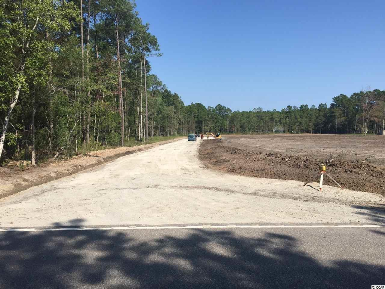 PLENTY OF ROOM ON THIS GREAT CLEARED 5 ACRE TRACT IN LITTLE RIVER NO HOA (PINE ERE ACRES) BUILD YOUR DREAM HOUSE AND HAVE ROOM TO HAVE YOUR OWN STORAGE BUILDING. MUST PAY WATER/SEWER IMPACT FEE'S. STICK BUILT ONLY!!TRACT IS CURRENTLY SUB DIVIDED INTO TWO 2.5 ACRE TRACTS BUT CAN BE REDONE INTO THE ORIGINAL 5 ACRE TRACT.