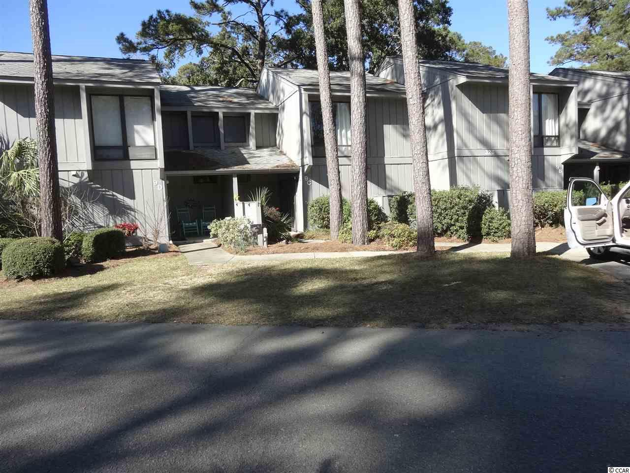 Only 5 minutes to the ocean at Litchfield Beach, SC. This 2-story condominium  is move-in ready! Featuring 3 bedrooms, 2.5 baths. Dining room with glass sliding door that opens to patio. Salt Marsh Cove is a well maintained community with  dock on creek, a swimming pool, clubhouse and is conveniently located near shopping, restaurants....and the beach!  Wifi and cable TV are included.