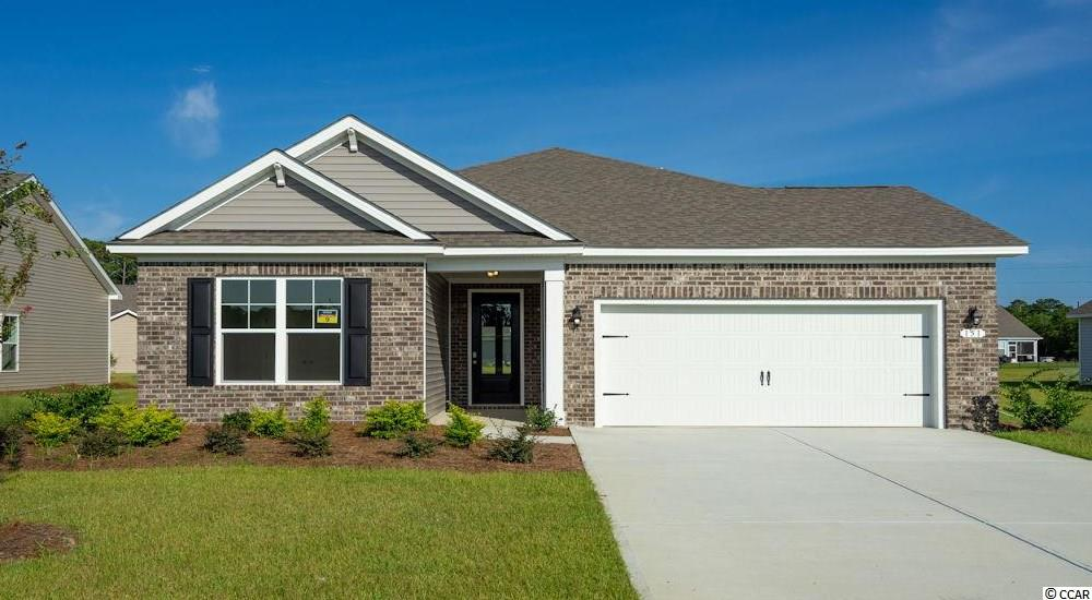"""Inlet Reserve is the place you want to call home! This is a natural gas community featuring 69 spacious homesites with private and pond views, conveniently tucked away in the heart of Murrells Inlet , yet just a short drive to championship golf courses, marinas, shopping, hospitals, beaches and the Marsh Walk where you'll find year round entertainment and award winning restaurants with spectacular views of the salt marsh and wild life.  If you are looking to downsize, upsize, or to add a pool and create your own outdoor living space, Inlet Reserve has the homesite and home for you.  We offer a mix of 1 story and 2 story thoughtfully designed open living floor plans, perfect for entertaining family and friends. The Litchfield  is a 1 story home featuring  4 bedrooms,  2 bathrooms, crown molding, 5 1/4"""" baseboard, trimmed out windows and 8ft. entry door. This home features a large kitchen area with 36"""" painted maple staggered cabinets with crown molding, granite countertops and a large gourmet island overlooking the family room and dining area, walk-in pantry, tile back splash, pendant lights and stainless steel appliances. This open floor plan is perfect for entertaining friends and family. Wood floors throughout the main living area. Tray ceiling in Owners suite , his and hers walk-in closet, 5 ft. walk-in shower, double vanities and bowls. Split floor plan with 3 nice size guest room. Off the family room 8ft. double sliders open to a 9'x 25' rear covered porch with pond view which is perfect for you to relax and enjoy your morning coffee or read a good book! New Community in popular St. James school district. Pictures are of a previous built home and model and are for representation purposes only. Ask about our included Smart Home Connection! Call and schedule your appointment today!"""