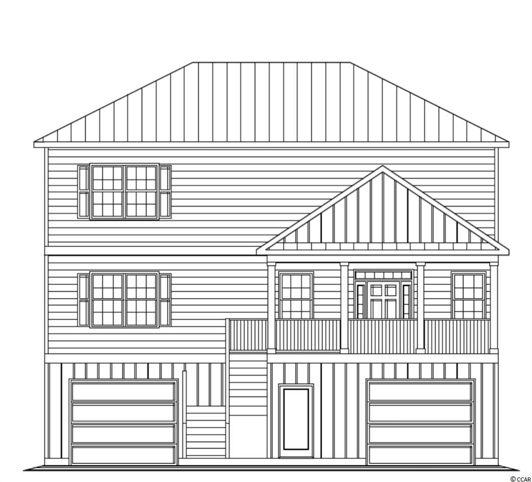 BRAND NEW NEIGHBORHOOD!! UNDER CONSTRUCTION!! Beautiful new  custom Beverly Homes floor plans. This raised BRAND NEW beach style home offers 3 bedrooms, 3 baths and an Upgraded flooring package to include Hardwood Floors, Ceramic Tile & Carpet. Home offers a Golf Cart ride to the beautiful beaches of Pawleys Island. Parking and plenty of storage underneath and a beautifully landscaped yard. This home is perfect for the Pawleys beach bum that does't want to pay the high prices on Pawleys Island!