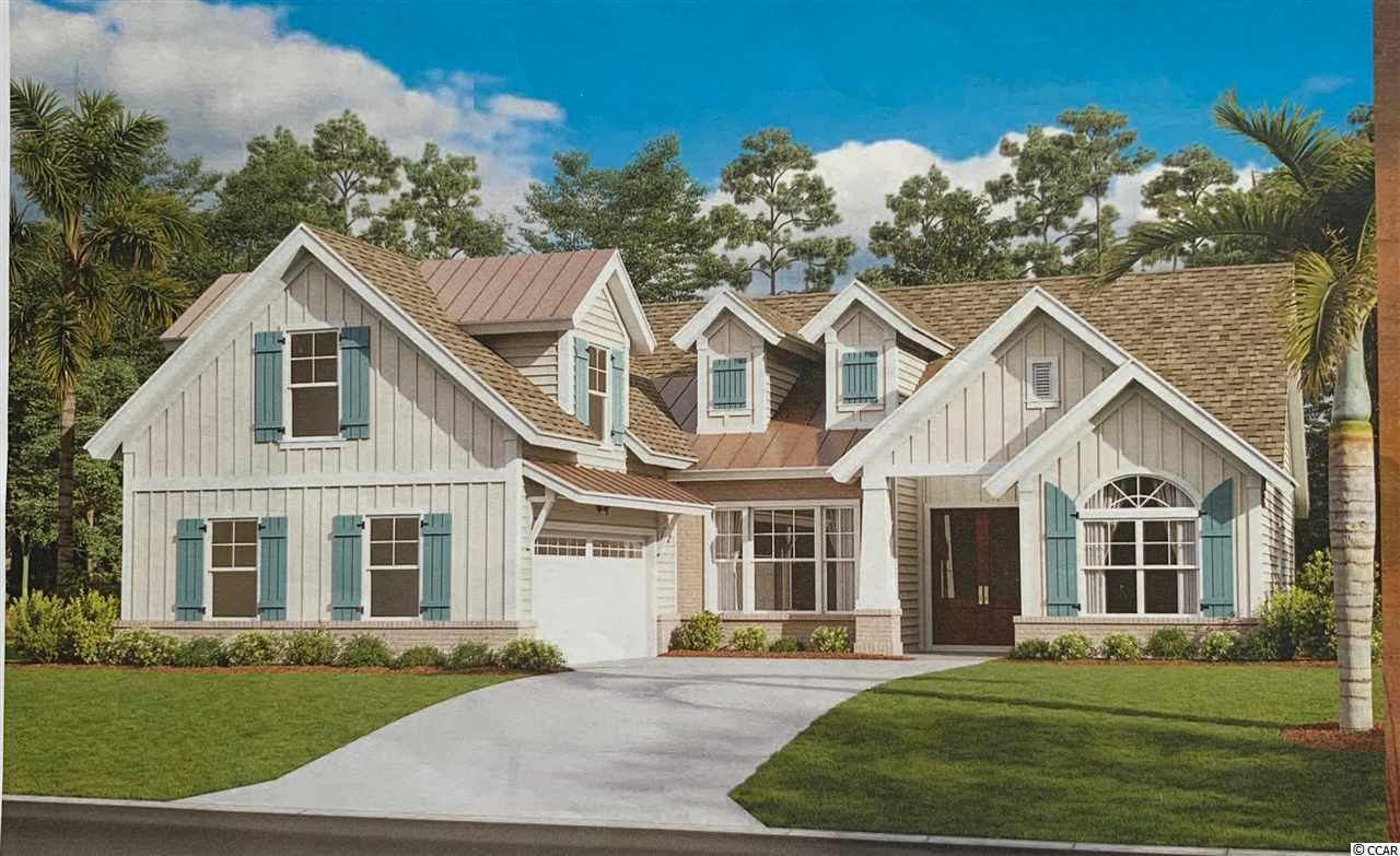 Welcome to BEAUMONT PARK in Pawleys Island!  New development just minutes from the beach, restaurants, grocery stores and more. One acre home site with NO HOA. Nations Homes is the custom builder. This  Carolina  home  plan s to be built with approx. 2300 Heated Square Feet.  Contemporary craftsman style 3 bedroom, 2 bath home with Hardie plank, shake, board & batten siding along with brick accenting exterior. An optional  Bonus Room could be 4th bedroom. Two car attached garage.   A beautiful covered porch and  a patio to enjoy your morning coffee or afternoon cocktail with friends. This home has many amazing features such as 9 foot and vaulted ceilings on first floor, 8 ft ceilings on second floor, rounded sheet rock corners, crown molding in main living areas.  An open floor plan with a large great room, dining and breakfast nook. The  Master suite has tray ceilings and master bath boosts double vanities, garden tub,  tile shower and his/her walk in closets. Beautiful interior with crown molding, tile floors throughout main living area, granite counter tops in kitchen and master bath, custom cabinets. The main living areas have tile flooring or hardwood flooring and bedrooms are carpet. The additional two bedrooms are a split bedroom floor plan and  guest bathroom has cultured marble counter tops and tile flooring. Come see this beautiful home and start living the Pawleys Island lifestyle! Photos may show features not included in base price. Optional upgrades available upon request. . Disclaimer: Storm water plan may change to gain use of undisturbed area at the back of each lot. A retention pond will run along the back of property near property line. There will still be plenty of space for a great backyard.