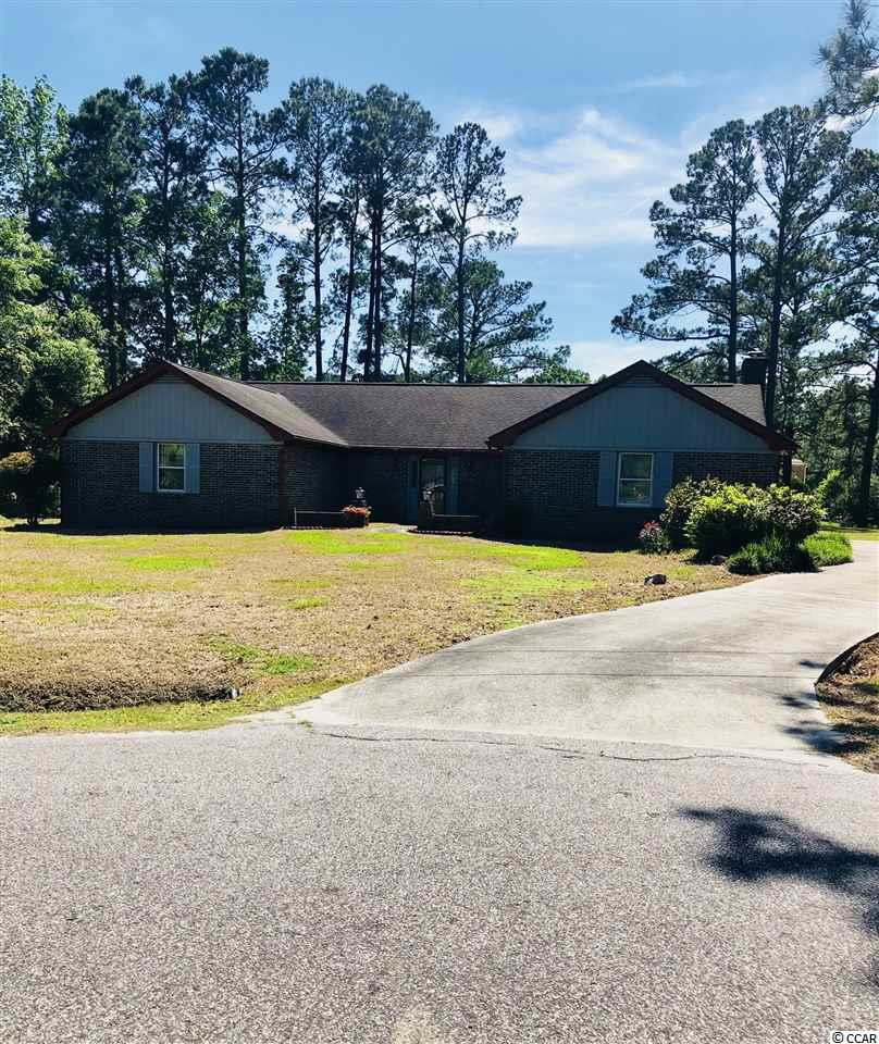 WOW! CHECK OUT THIS AMAZING BRICK RANCH HOME ON A CUL DA SAC IN THE WELL DESIRED DEERFIELD SUBDIVISION. SITUATED ON ONE OF THE BIGGEST LOTS IN THE NEIGHBORHOOD, ENJOY A RELAXING VIEW OF FINGER LAKE. YES, THIS BEAUTY SITS ON THE WATER AND HAS A PRIVATE DOCK. PLENTY OF YARD TO EVEN ADD AN INGROUD POOL IN THE FUTURE. WITH APPROX. 1986 SQFT OF CHARM, THIS 3 BEDROOM 2BATH HOME BOASTS SPACIOUS ROOMS THROUGHOUT, TILE, GRANITE IN THE KITCHEN, AND HARDWOOD. STEP INSIDE TO FIND A BEAIUTIFUL OPEN FOYER, HUGE DINING ROOM, UPDATED KITCHEN, AND   FAMILY ROOM WITH VAULTED CEILINGS AND A COZY WOODBURNING FIREPLACE. DID I MENTION THE SUNROOM? RELAX IN THE SUNROOM WITH ALL NEW VINYL WINDOWS. ALL STAINLESS STEEL KITCHIN APPLIANCES WILL CONVEY. TRANE HVAC UNIT IS APRROX. 5YRS OLD AND THE ROOF IS 2012 WITH ARCITECTUAL SHINGLES. WATER HEATER IS BRAND NEW 2018. NEW CARPET IN FAMILY ROOM AND DINING ROOM. YOU DON'T WANT TO MISS THIS OPPORTUNITY. ONLY A SHORT GOLFCART RIDE TO THE BEAUTIFUL ATLANTIC OCEAN!CALL TODAY TO TAKE A TOUR AND MAKE THIS HOME YOURS. WONT LAST LONG!